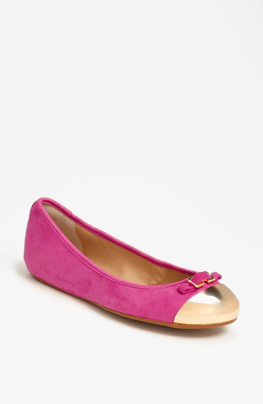 Alternate Image 1 Selected - Diane von Furstenberg 'Bonita' Suede Flat (Online Only)