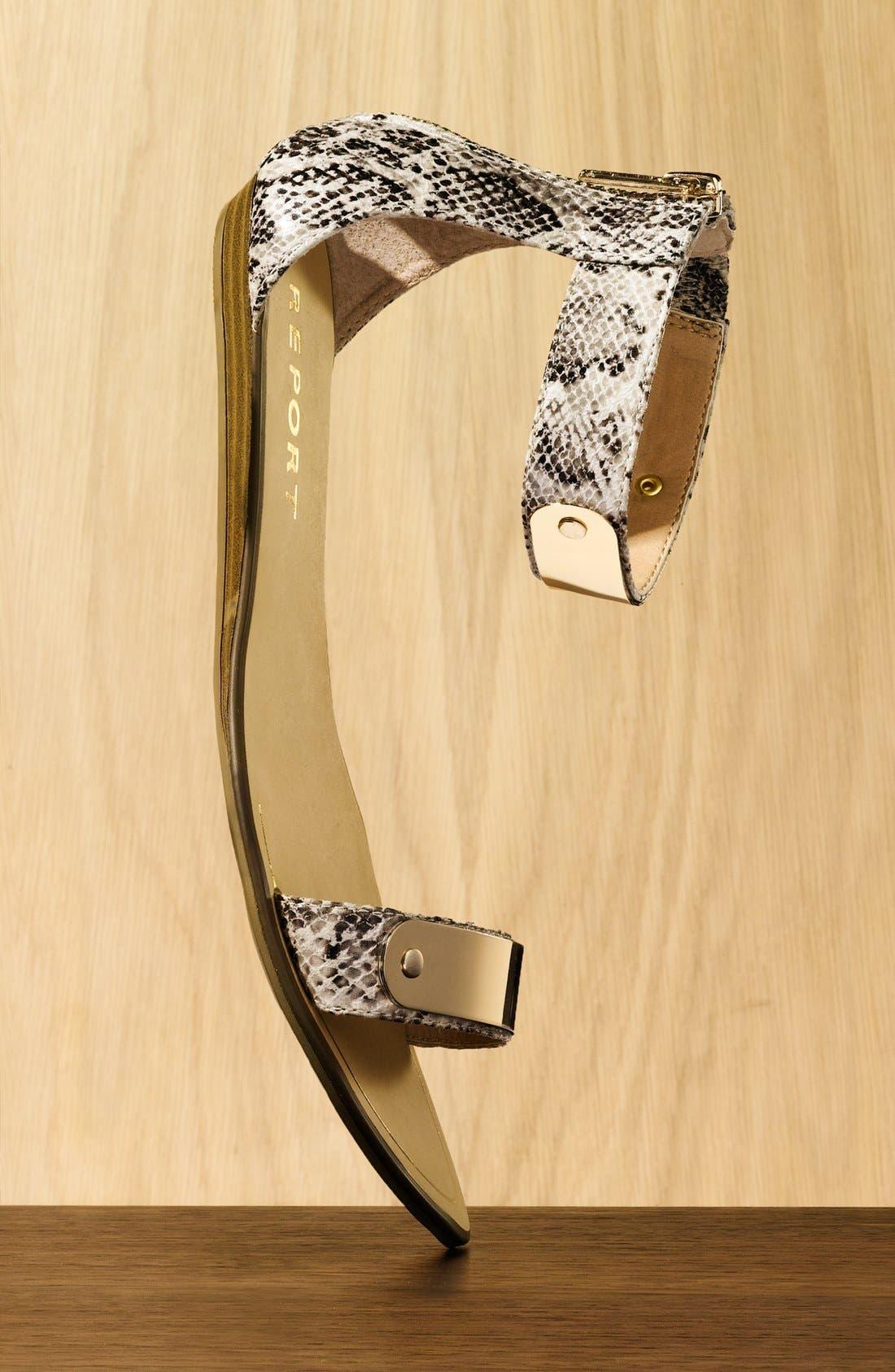 Alternate Image 5  - REPORT Metal Bar Sandal