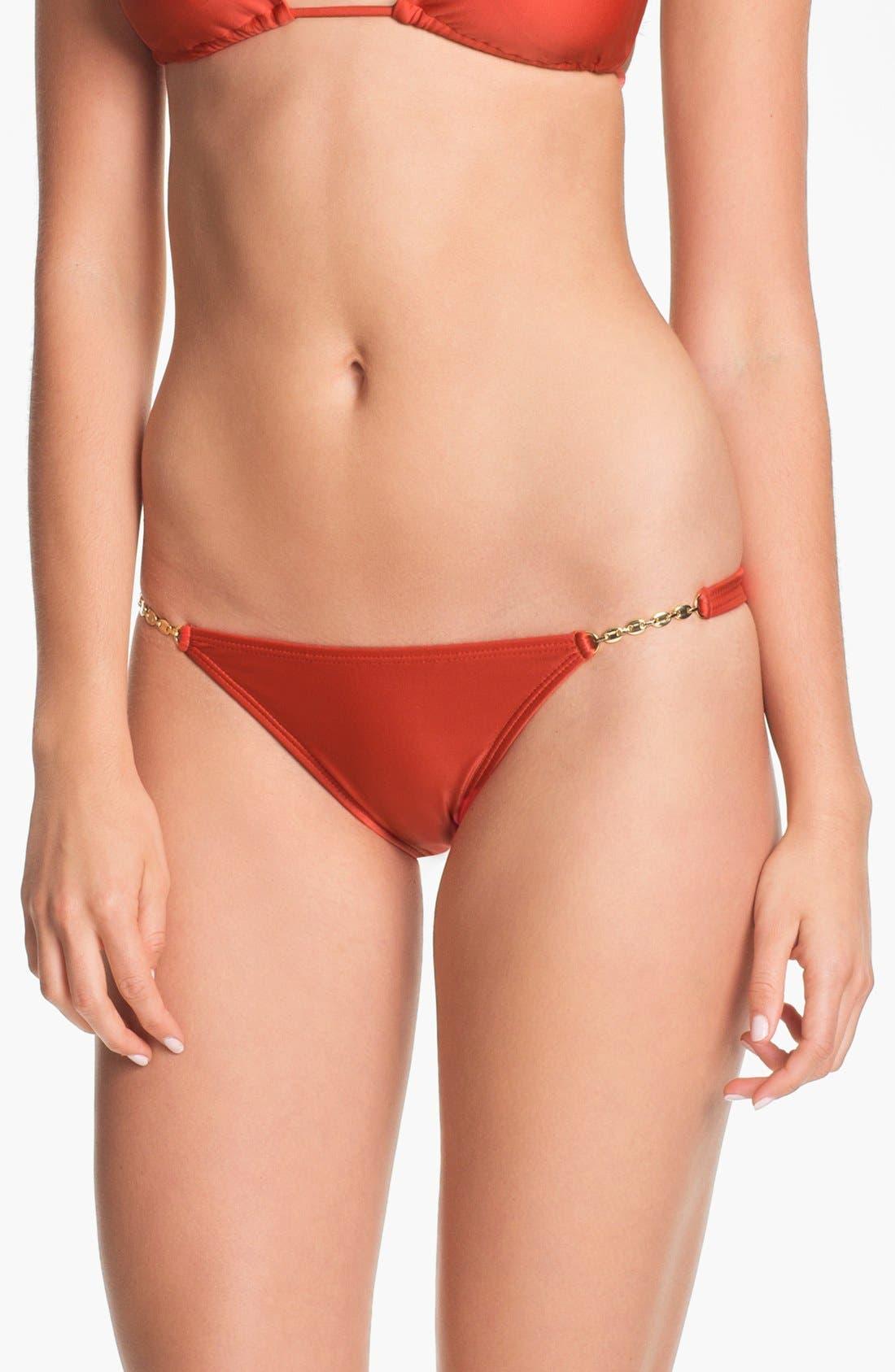 Alternate Image 2  - ViX Swimwear Hardware Detail Bikini Bottoms