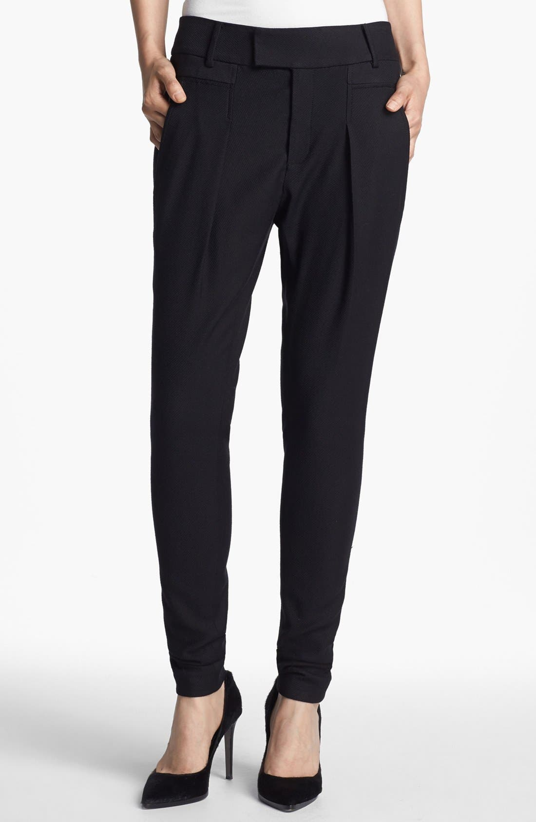 Alternate Image 1 Selected - Helmut Lang Draped Pants