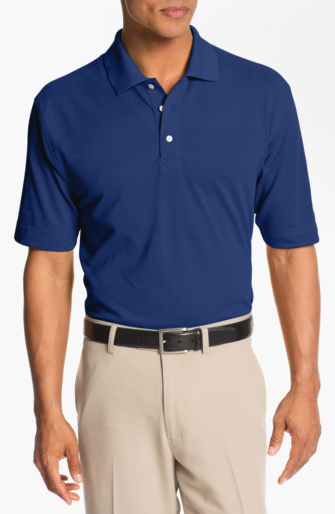 Cutter & Buck 'Championship' DryTec Golf Polo (Big & Tall)