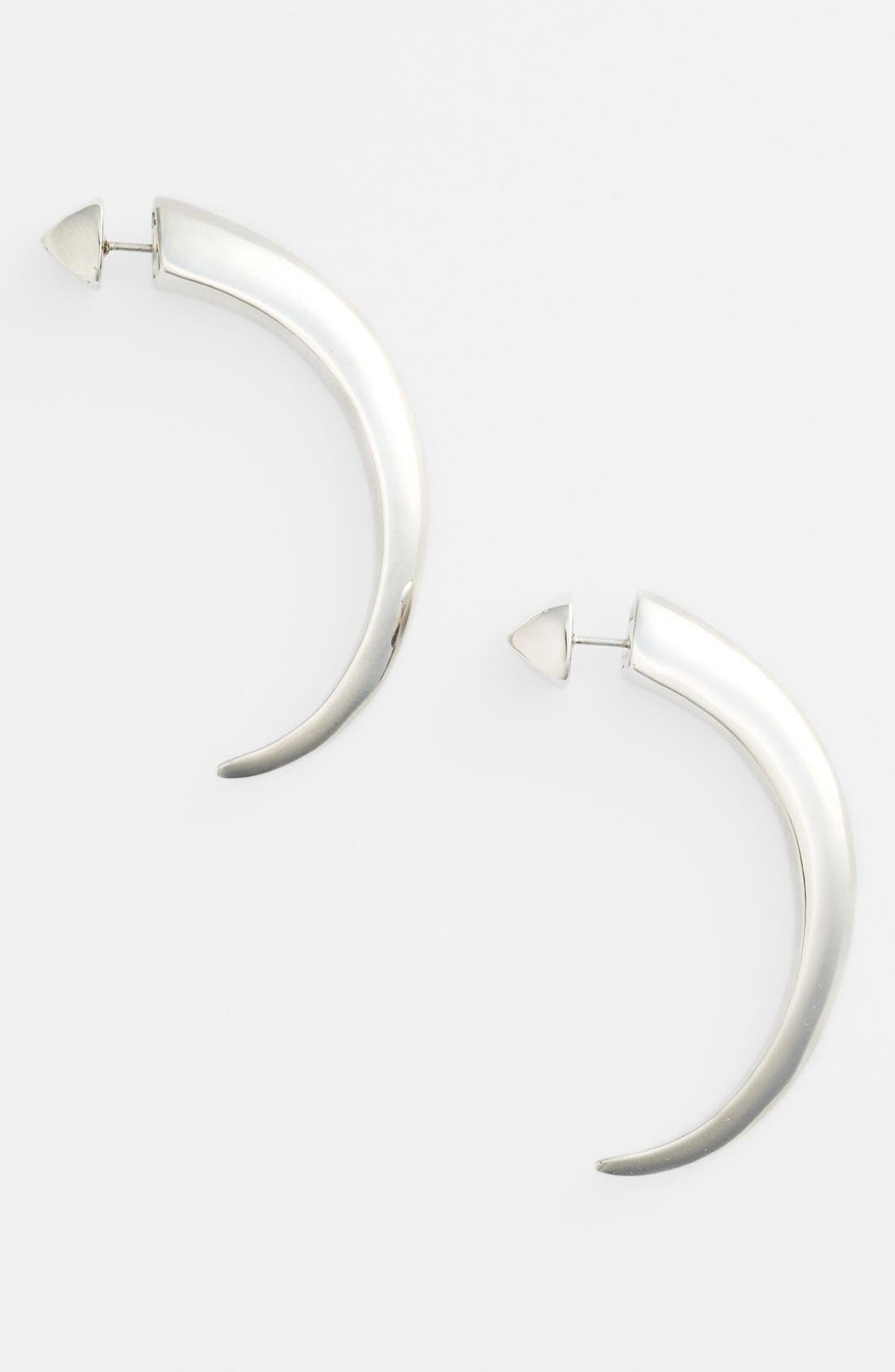 Main Image - Vince Camuto 'By the Horns' Reversible Large Hoop Earrings