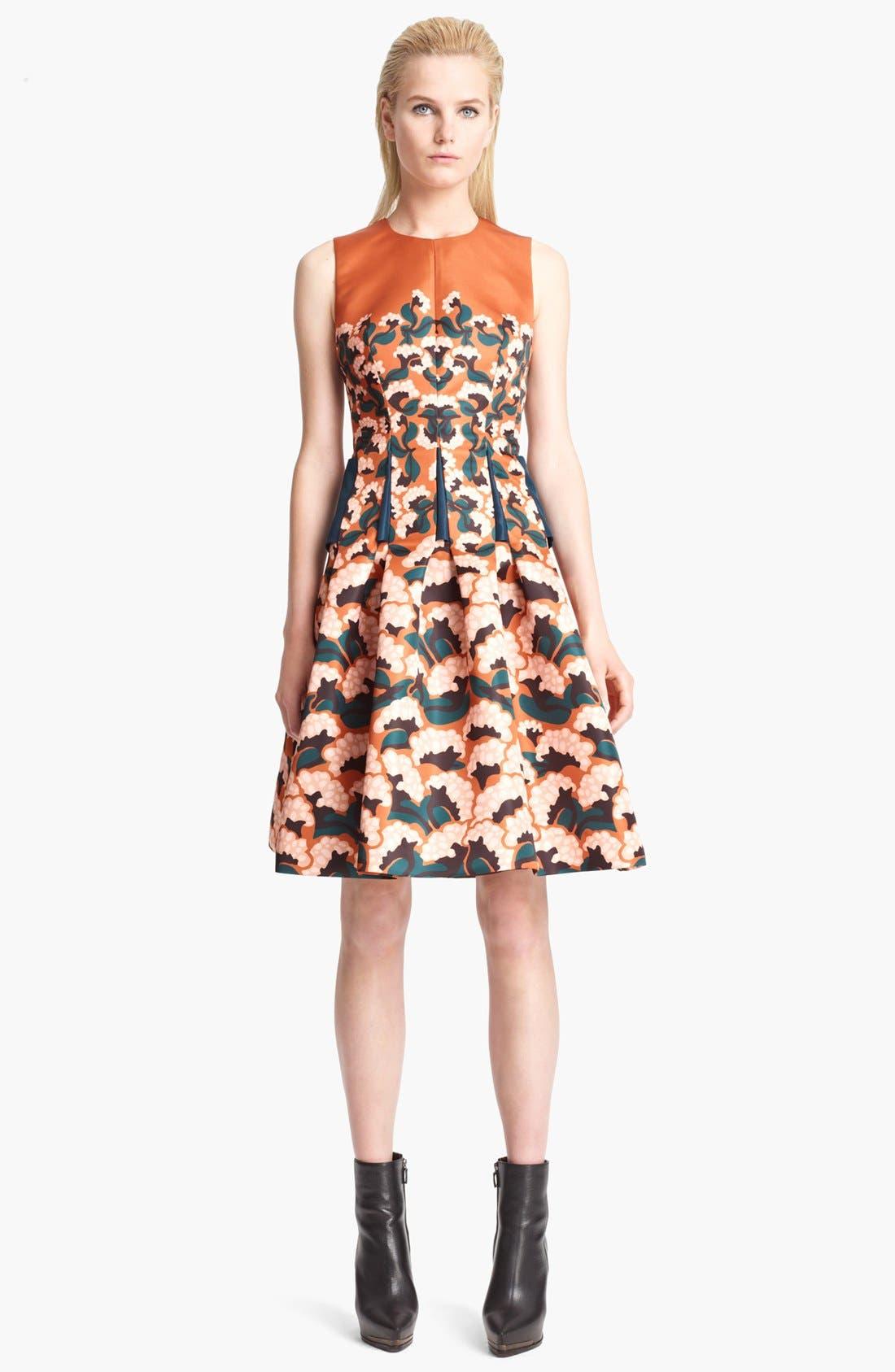 Alternate Image 1 Selected - Thakoon Floral Print Full Skirt Dress