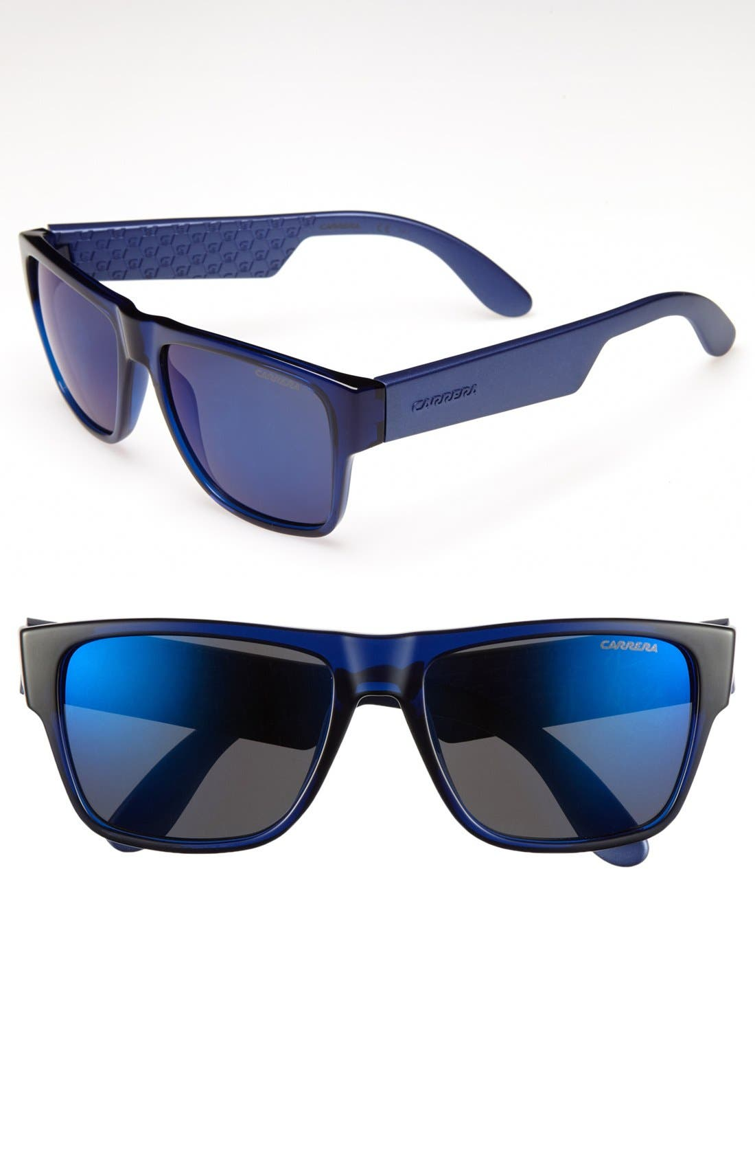 '5002' 55mm Sunglasses,                             Main thumbnail 1, color,                             Blue