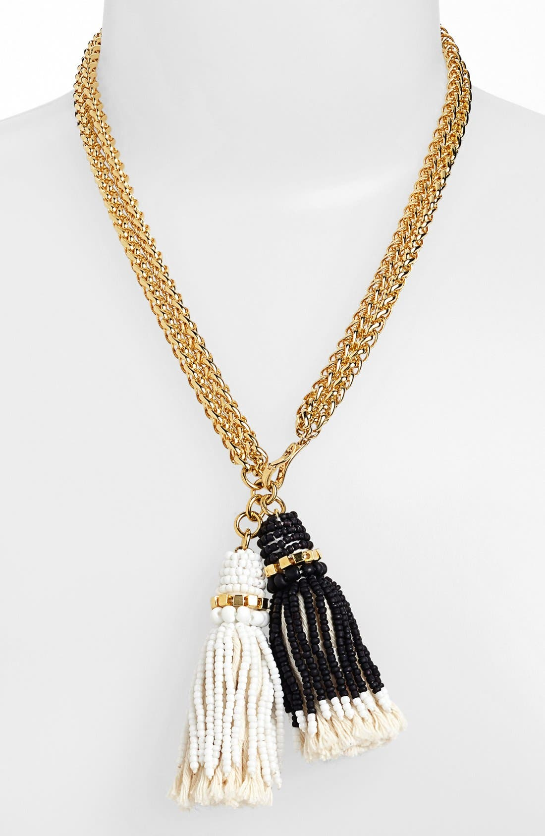 Main Image - Vince Camuto 'Rope Royalty' Convertible Tassel Necklace