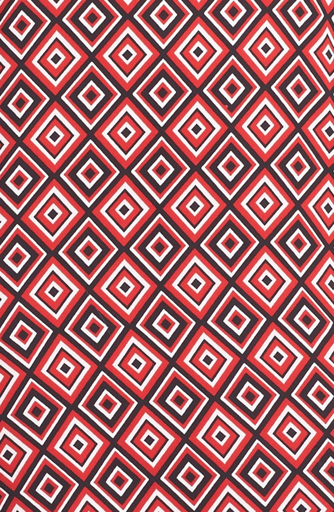 Alternate Image 3  - Vince Camuto Diamond Tile Print Shift Dress