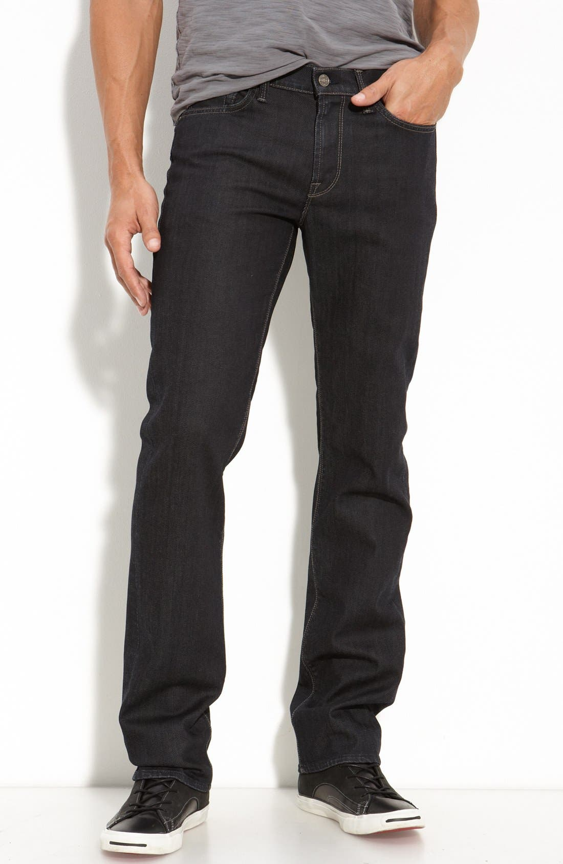 Alternate Image 2  - 7 For All Mankind® 'Slimmy' Slim Fit Jeans (Chester Row)