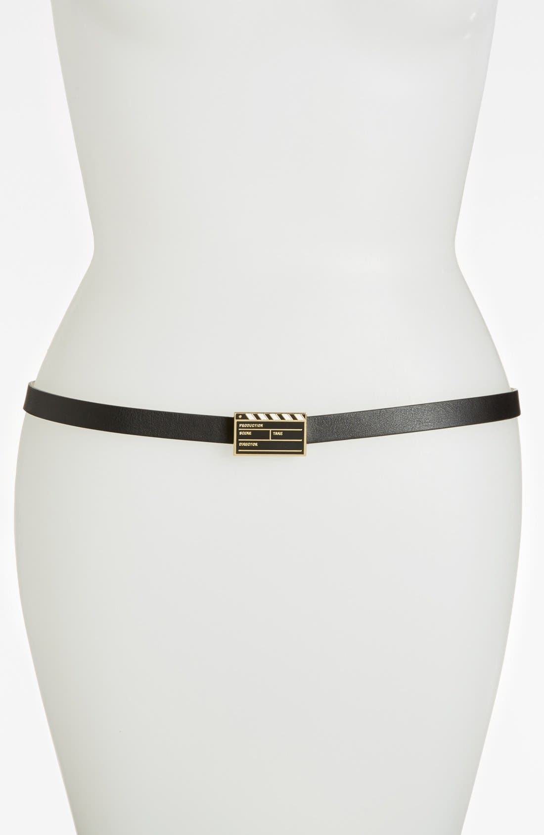Main Image - kate spade new york 'movie' leather belt