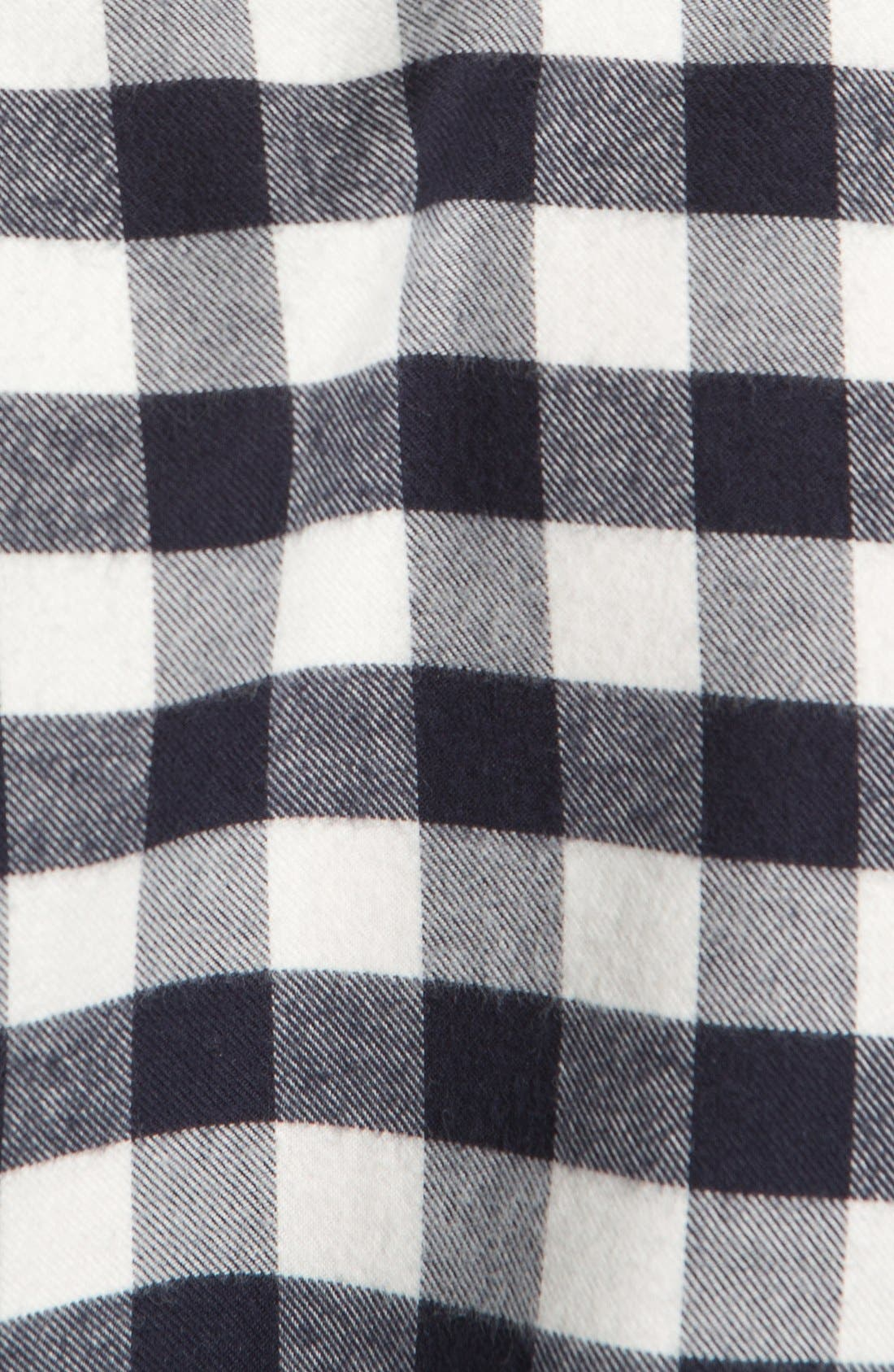 Alternate Image 3  - A.P.C. Check Cotton Flannel Shirt