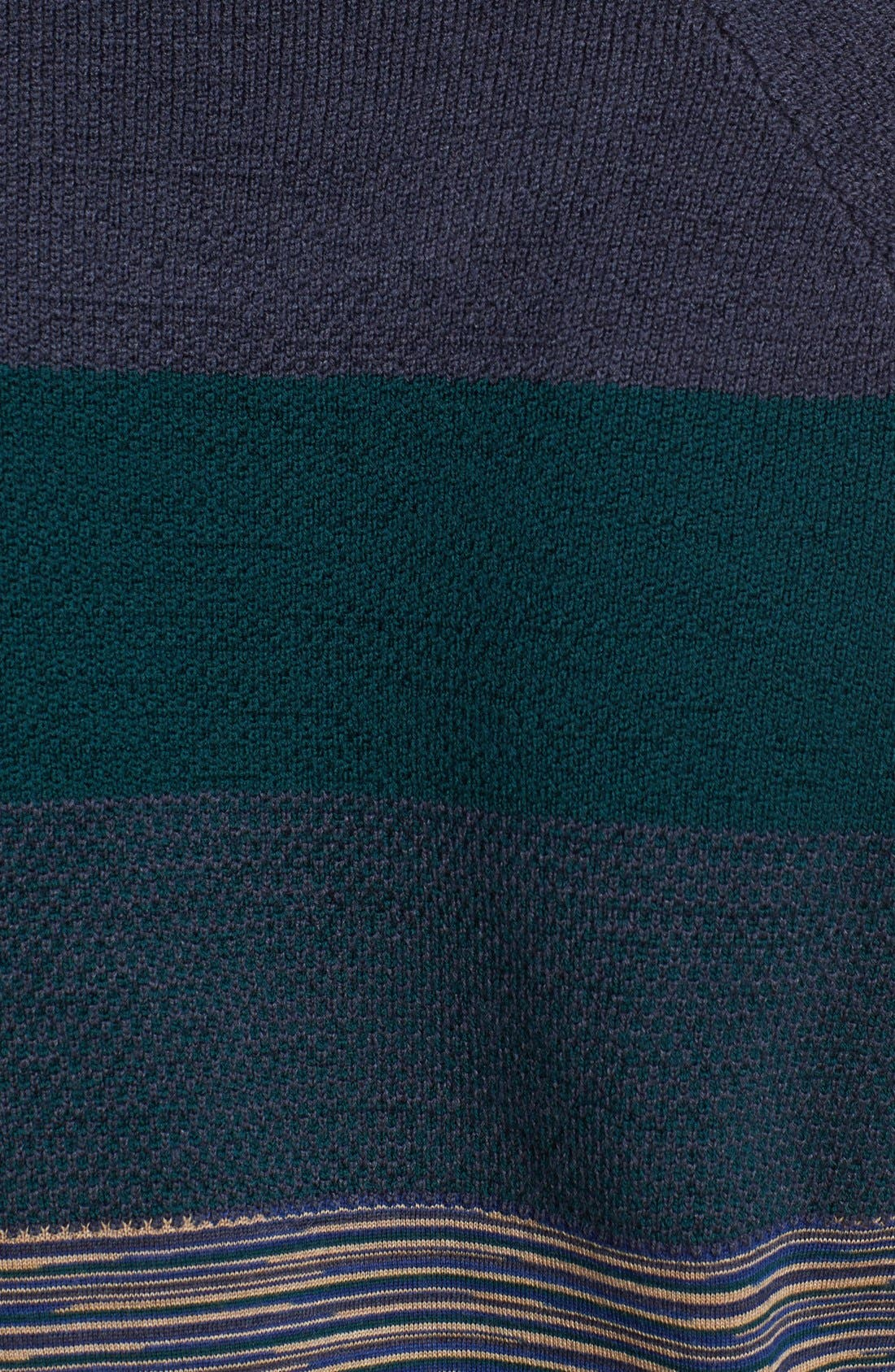 Alternate Image 3  - Missoni Chest Stripe Space Dyed Crewneck Sweater