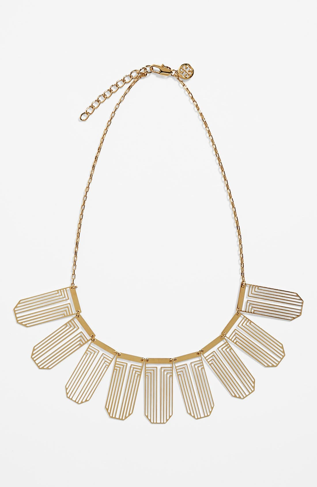 Alternate Image 1 Selected - Tory Burch 'Frete' Bib Necklace