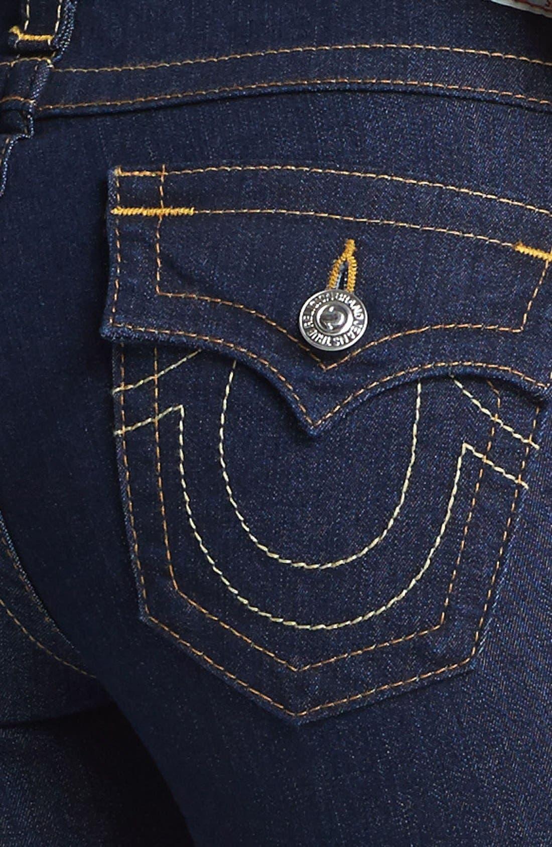 Alternate Image 3  - True Religion Brand Jeans 'Serena' Denim Leggings (Body Rinse) (Online Only)