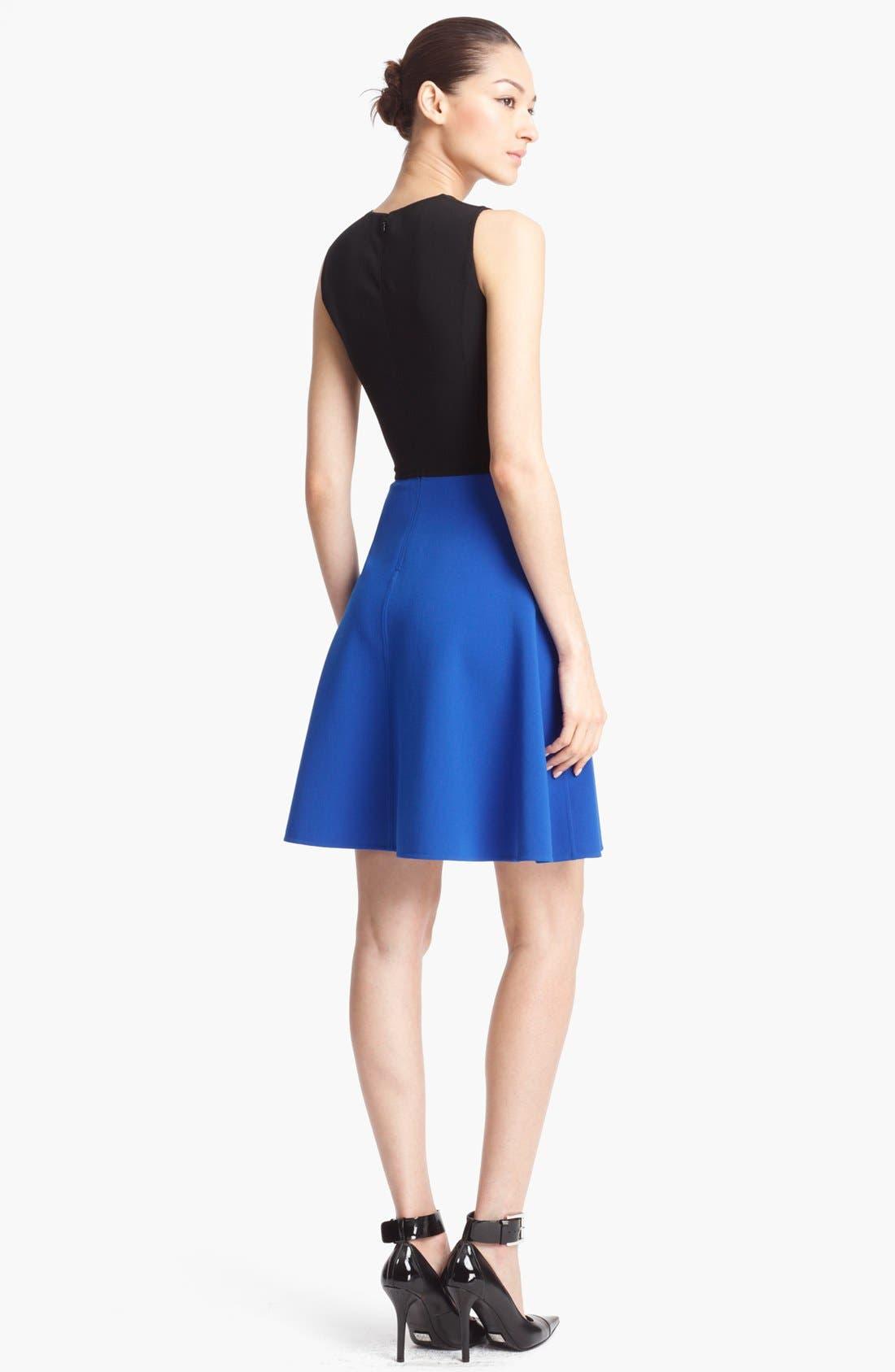 Alternate Image 2  - Michael Kors Wool Crepe Dress