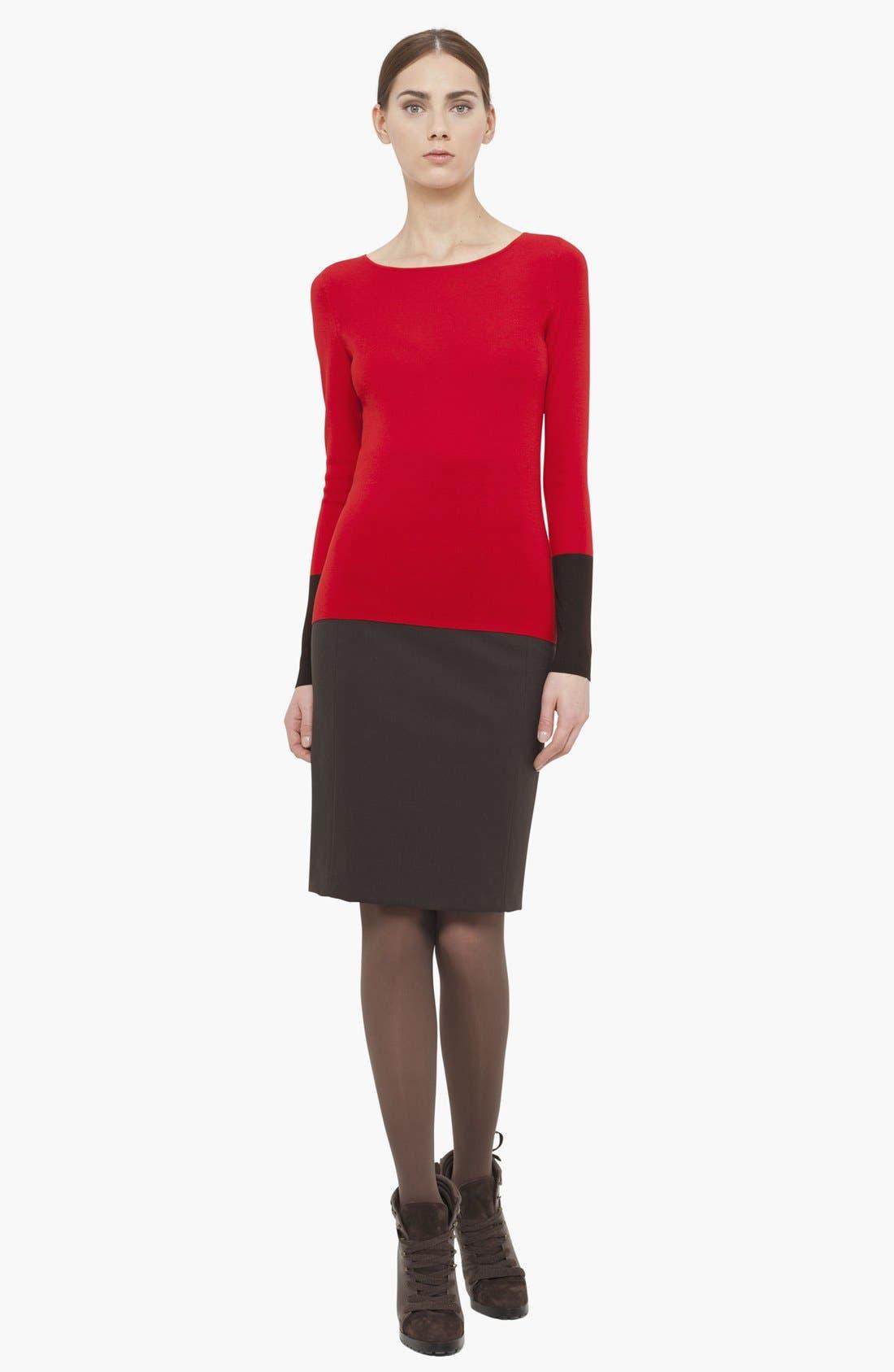 Alternate Image 2  - Akris punto Wool Sweater