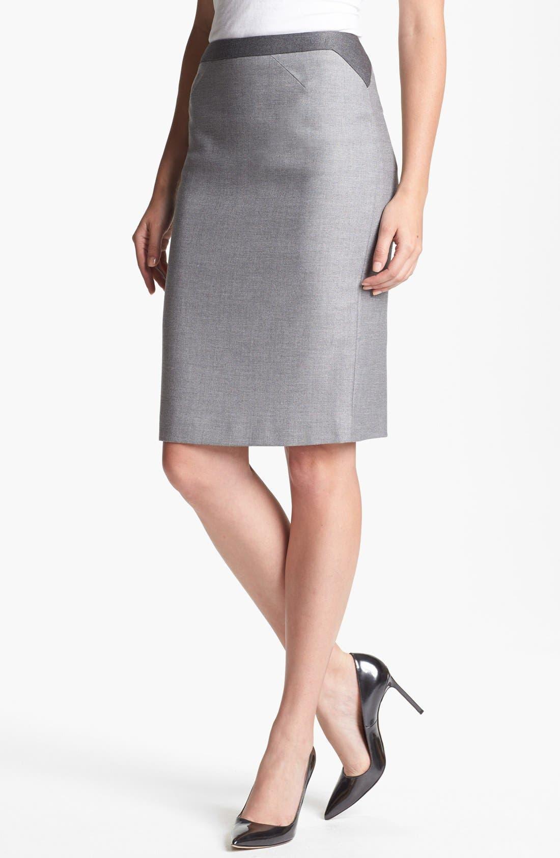Alternate Image 1 Selected - BOSS HUGO BOSS 'Venina' Skirt