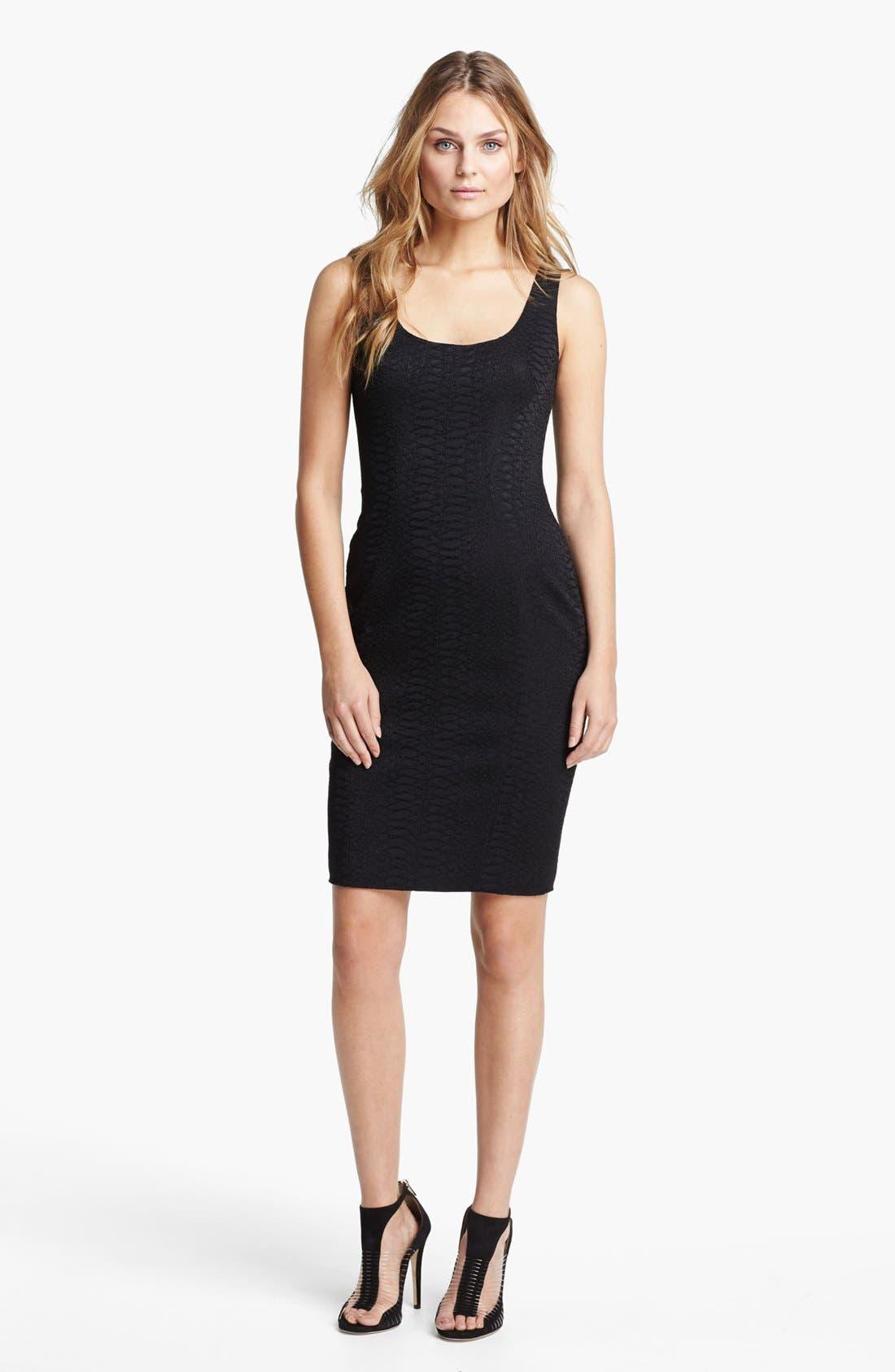 Main Image - Jay Godfrey 'Ines' Python Jacquard Dress (Nordstrom Exclusive)