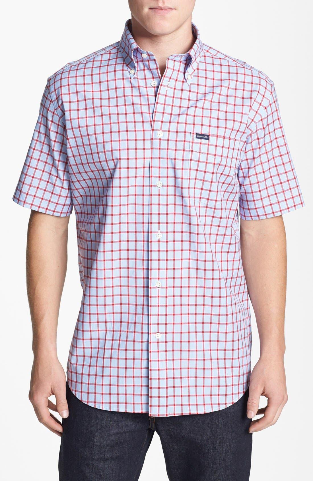 Alternate Image 1 Selected - Façonnable Classique Fit Sport Shirt