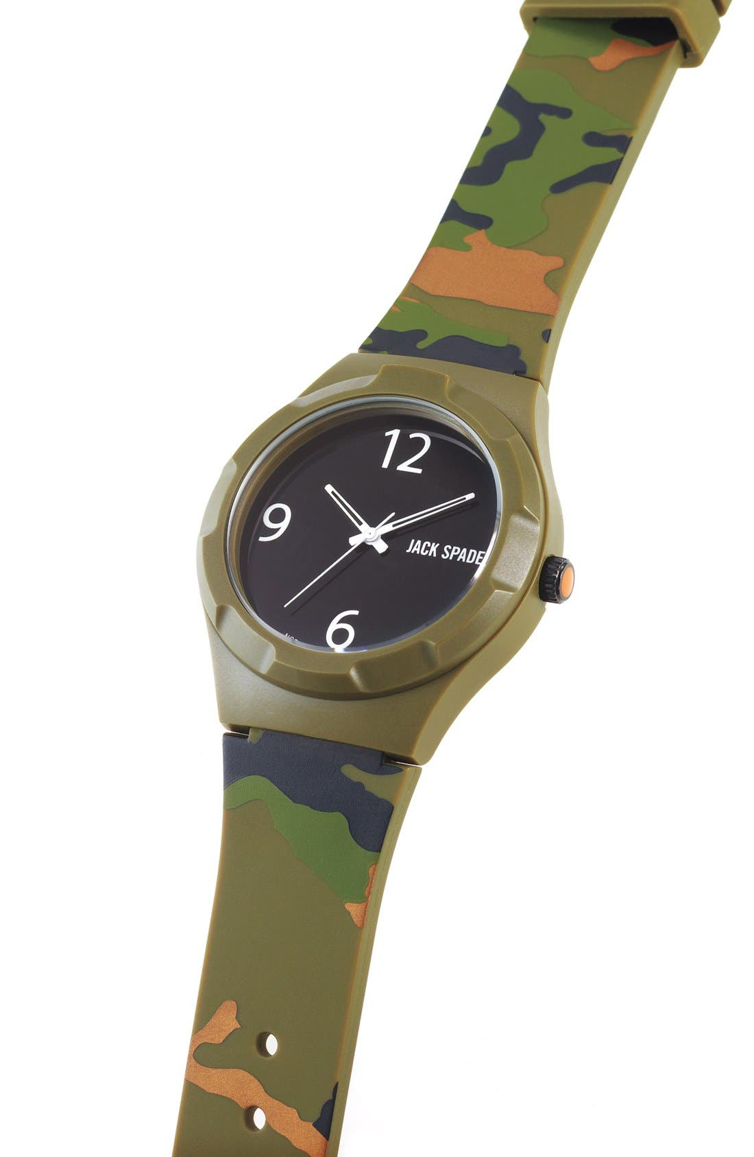 Alternate Image 3  - Jack Spade 'Graphic - Camo' Watch, 40mm