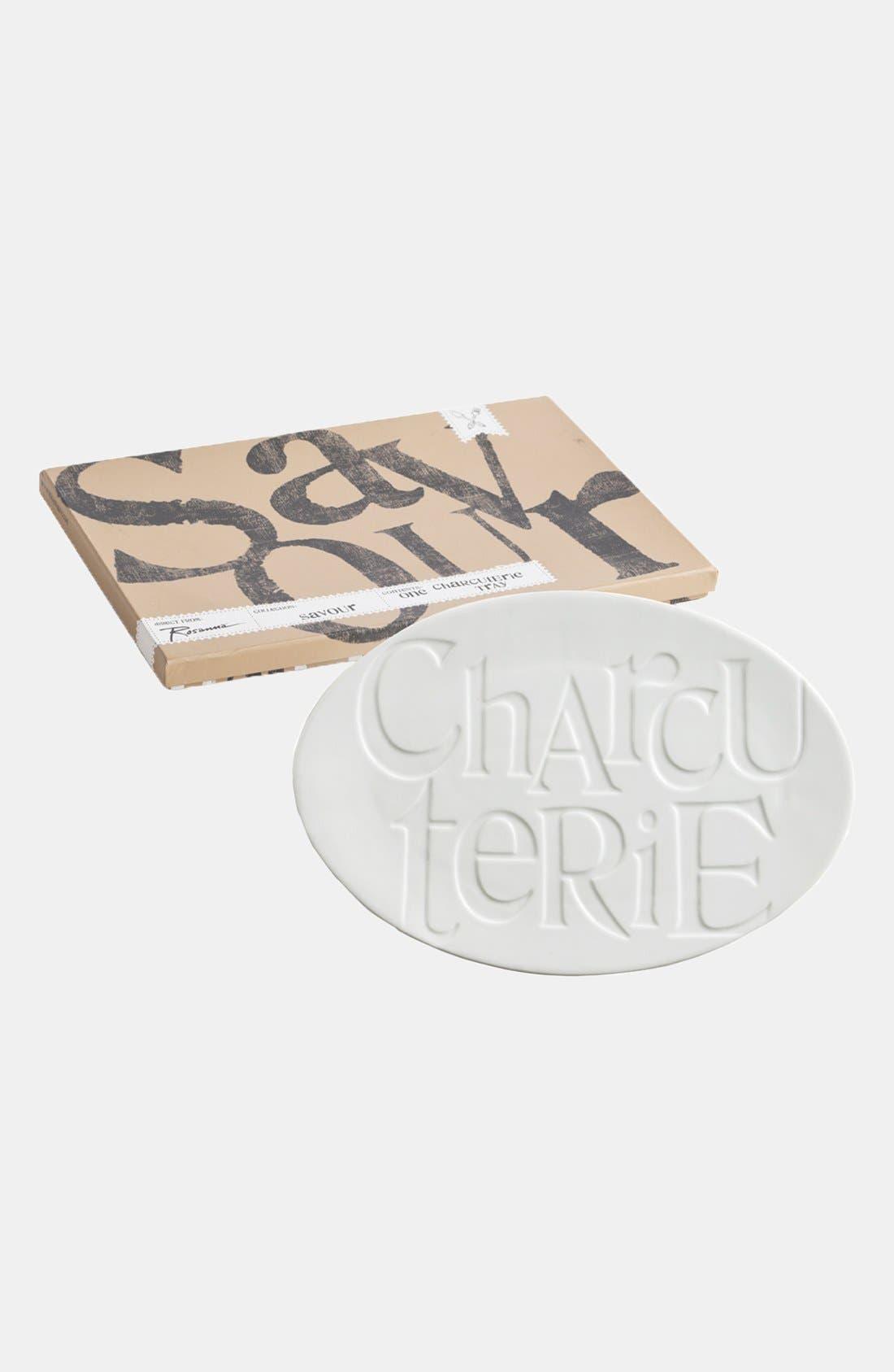 Alternate Image 2  - Rosanna 'Savour - Charcuterie' Porcelain Tray