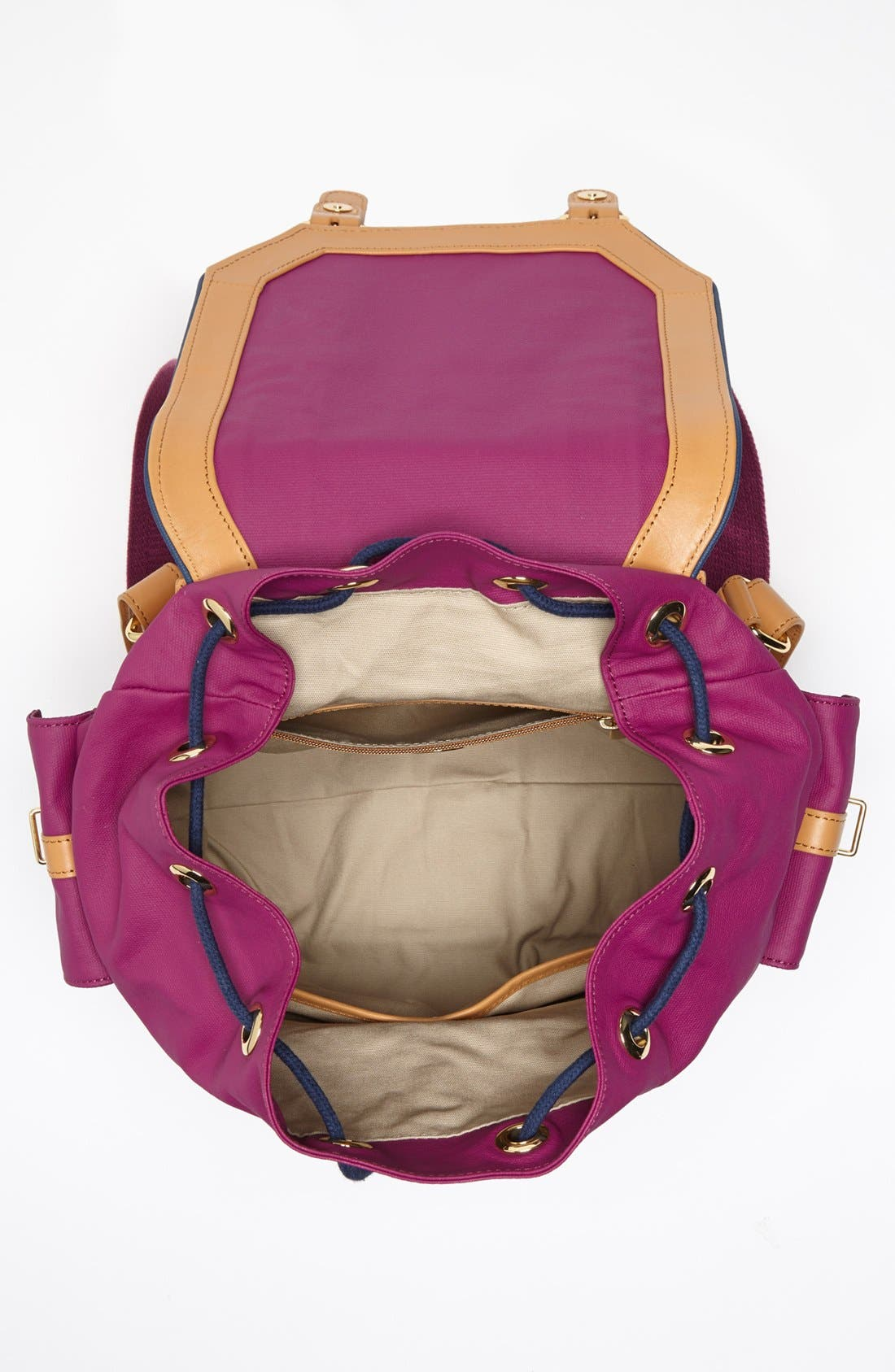 Alternate Image 3  - Tory Burch Dipped Canvas Backpack