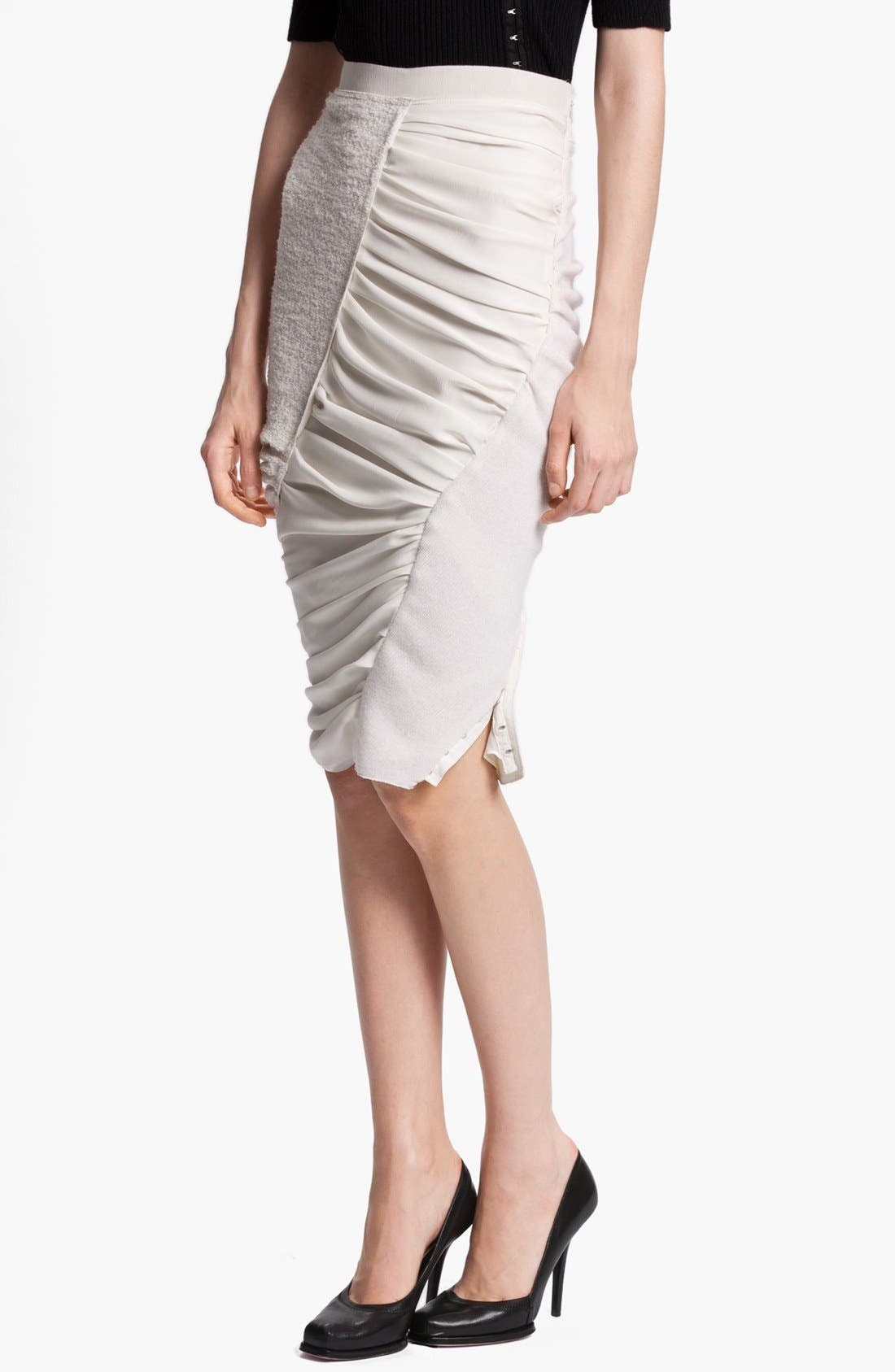 Alternate Image 1 Selected - Nina Ricci Ruched Skirt