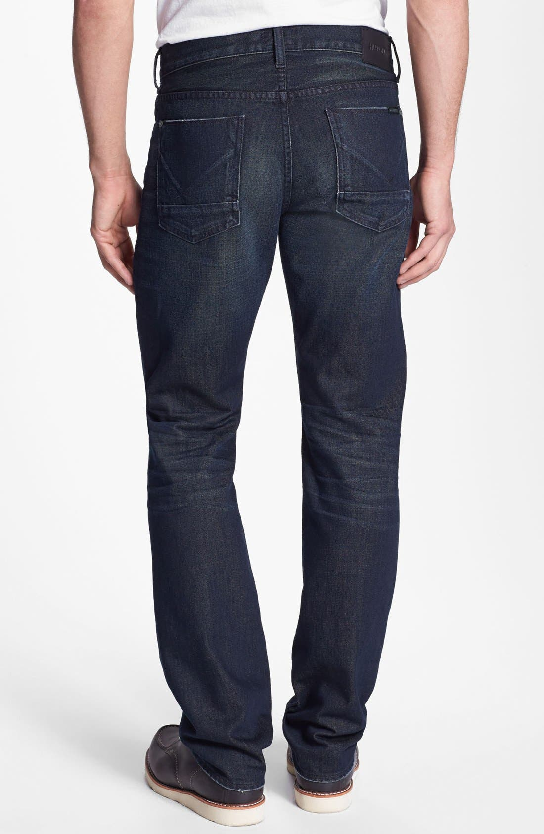 Alternate Image 1 Selected - Hudson Jeans 'Byron' Straight Leg Jeans (Pyle)