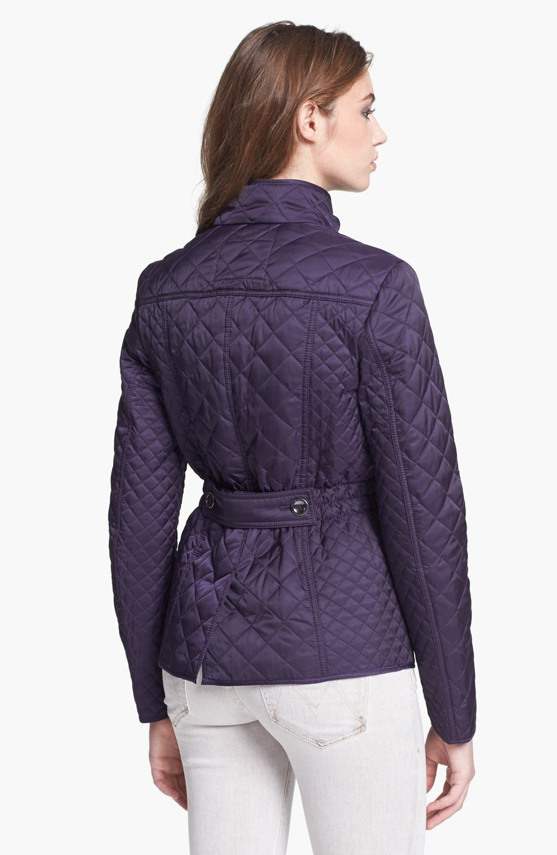 Alternate Image 2  - Laundry by Shelli Segal Quilted Jacket (Nordstrom Exclusive)