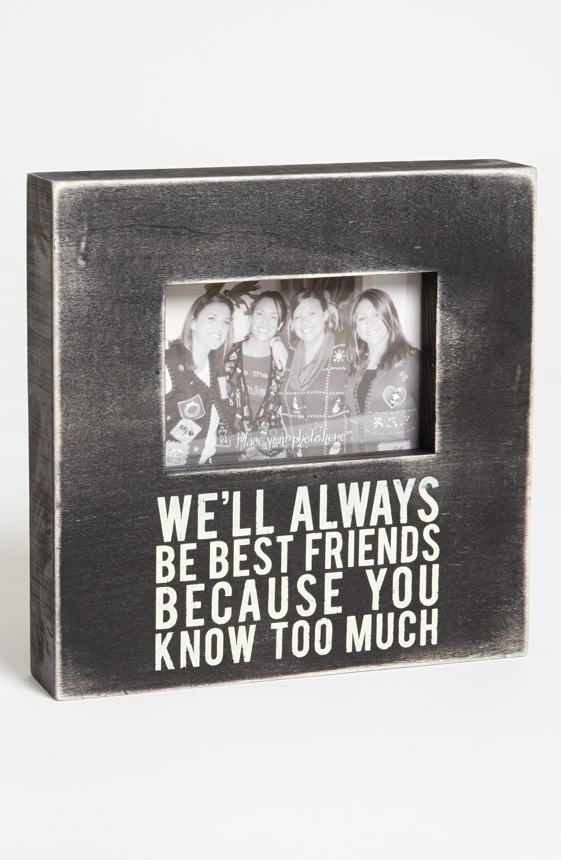 Main Image - Primitives by Kathy 'Best Friends' Box Picture Frame