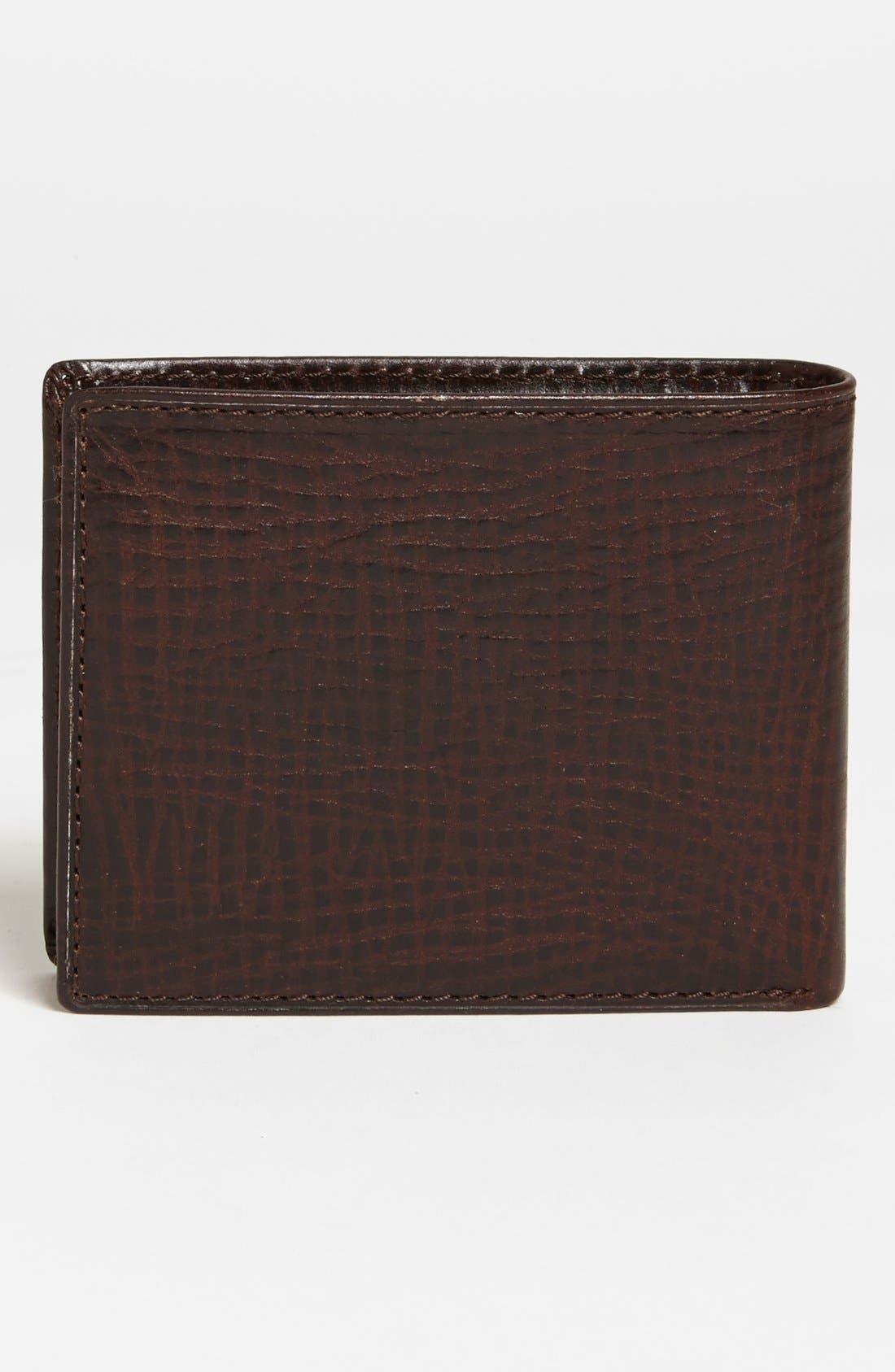Alternate Image 3  - Fossil 'Keaton' Traveler Wallet
