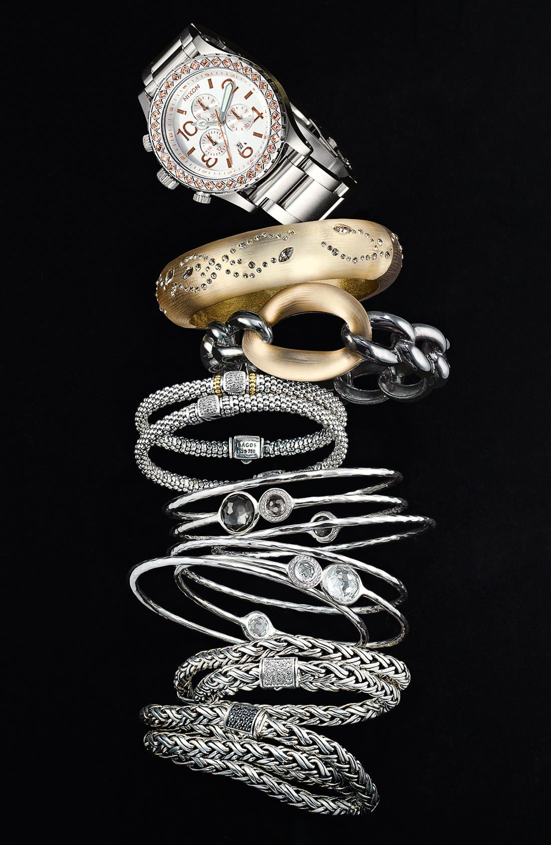 Alternate Image 3  - Lagos Caviar Diamond Rope Bracelet