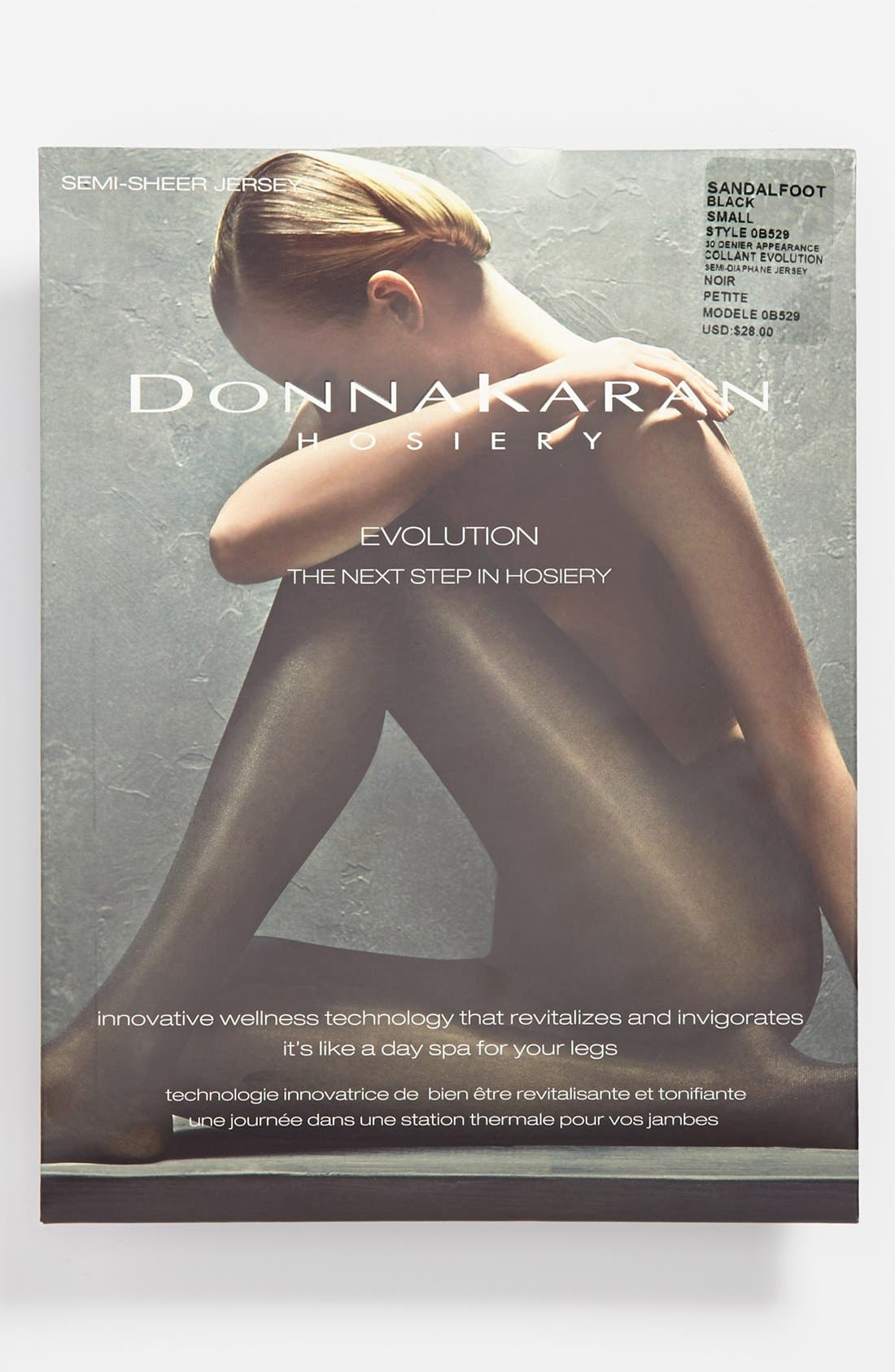 Alternate Image 2  - Donna Karan Evolution Semi-Sheer Pantyhose