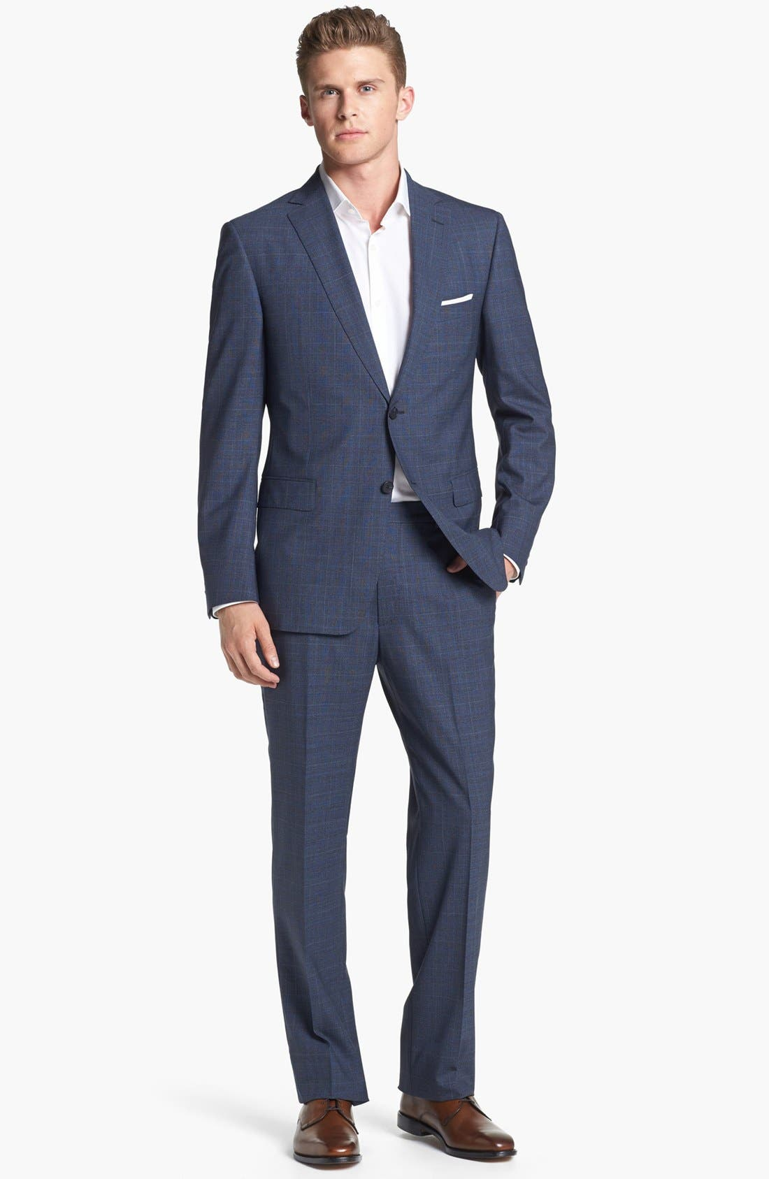 Alternate Image 1 Selected - Z Zegna Plaid Wool Suit