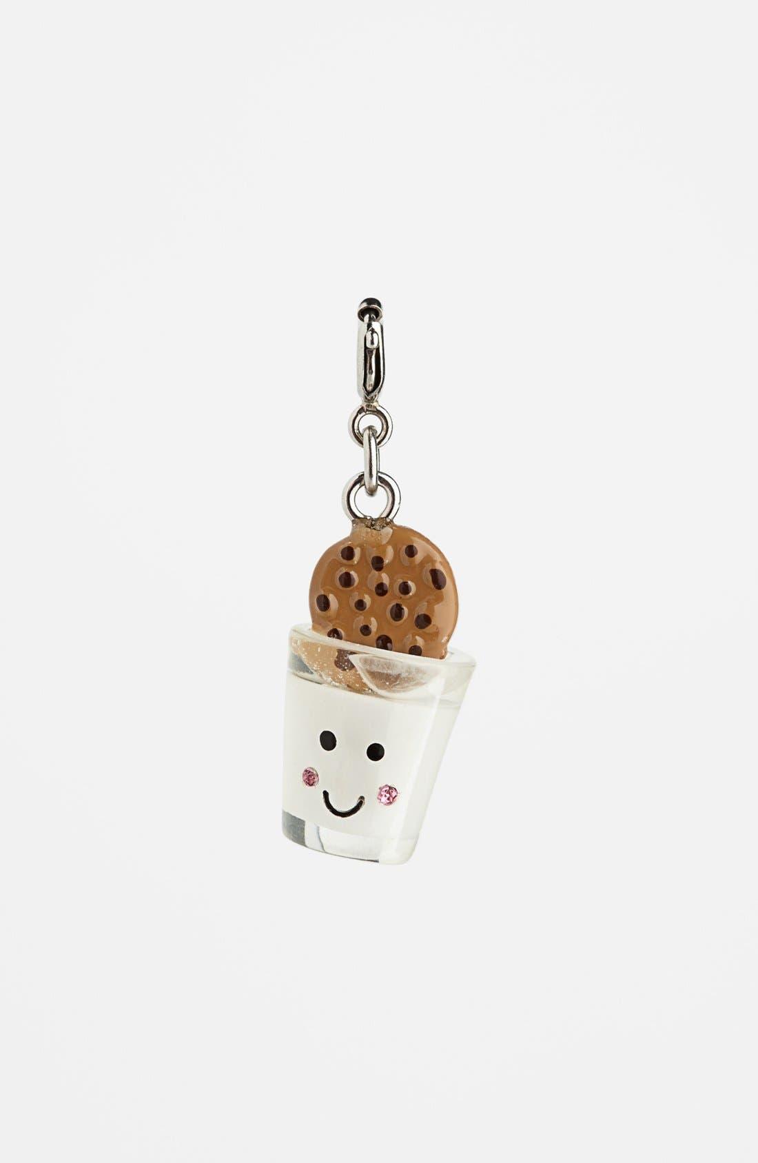 Alternate Image 1 Selected - CHARM IT!® 'Milk & Cookies' Charm (Girls)
