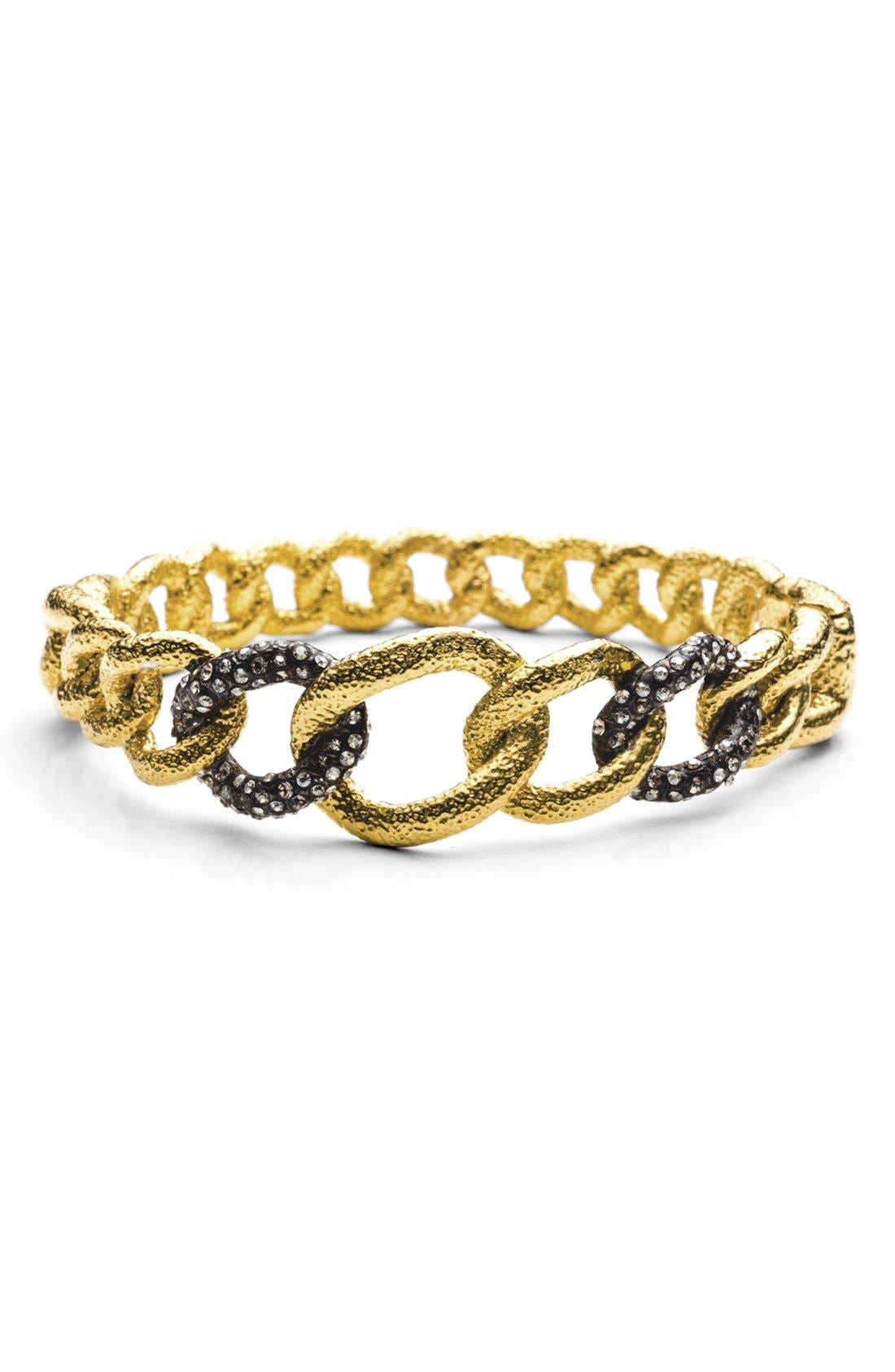 Alternate Image 2  - Alexis Bittar 'Elements - Jardin de Papillon' Hinged Chain Link Bracelet