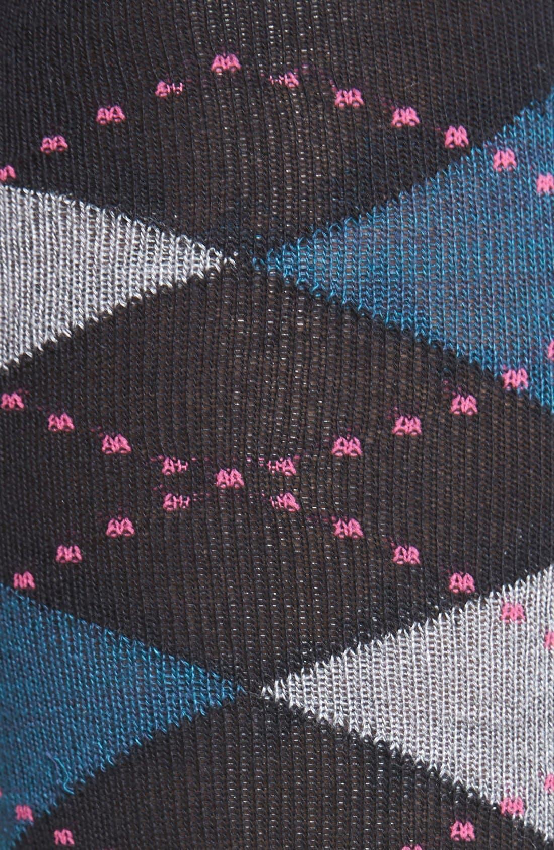 Alternate Image 2  - Nordstrom 'Soft Touch' Argyle Knee Socks