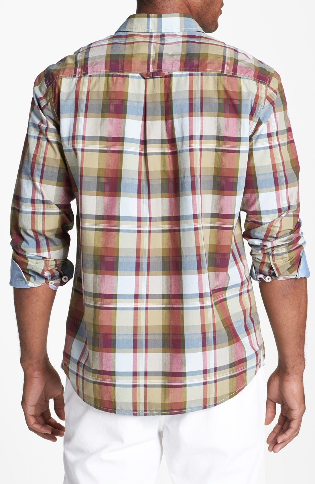 Alternate Image 2  - Tommy Bahama Denim 'Big Daddy' Island Modern Fit Sport Shirt