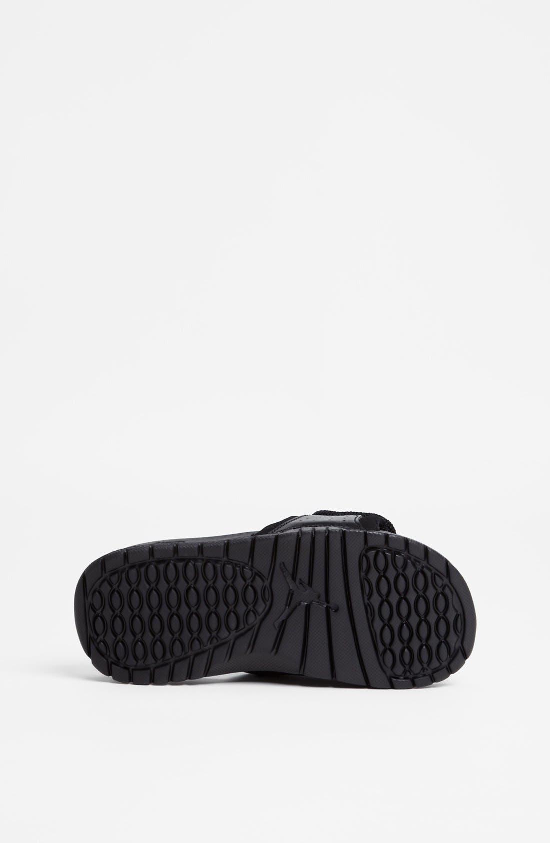 Alternate Image 4  - Nike 'Jordan Hydro II' Sandal (Toddler & Little Kid)