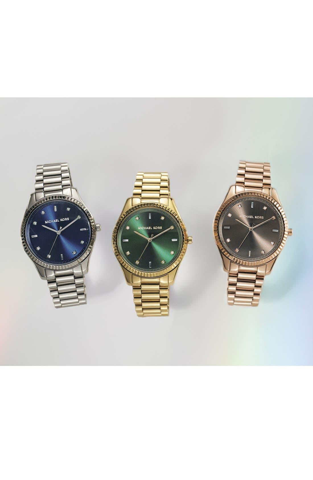 Alternate Image 5  - Michael Kors 'Blake' Bracelet Watch, 42mm
