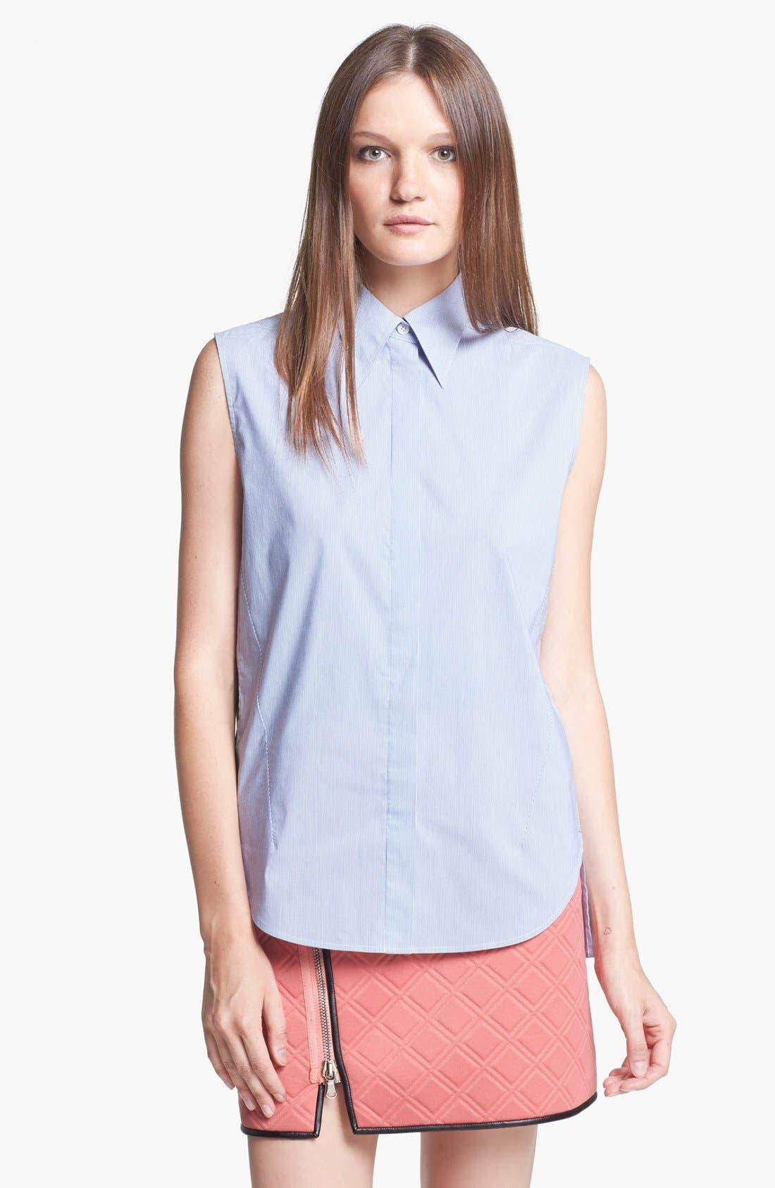 Alternate Image 1 Selected - 3.1 Phillip Lim Sleeveless Stripe Shirt