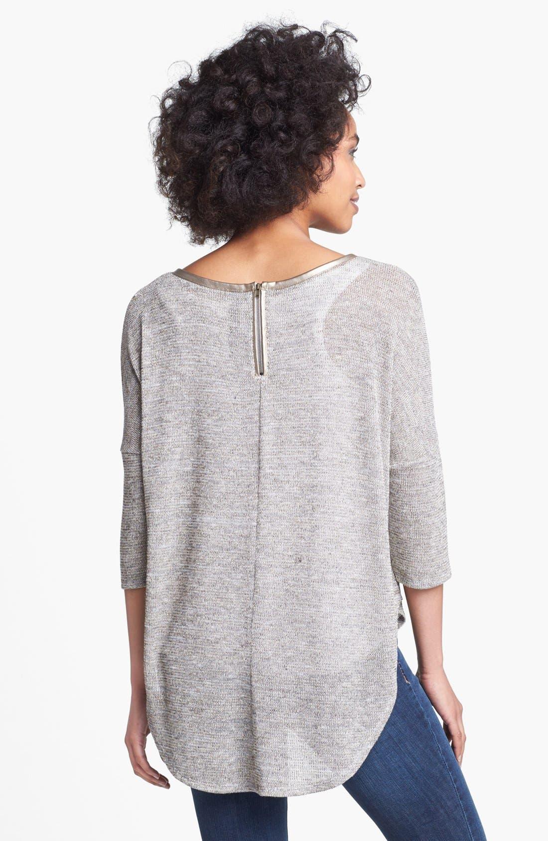 'Melanee' Sweater,                             Alternate thumbnail 2, color,                             Natural