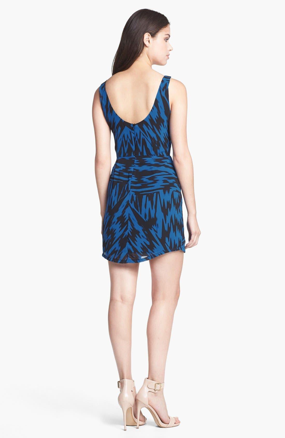 Alternate Image 2  - BB Dakota 'Nicki' Print Sheath Dress