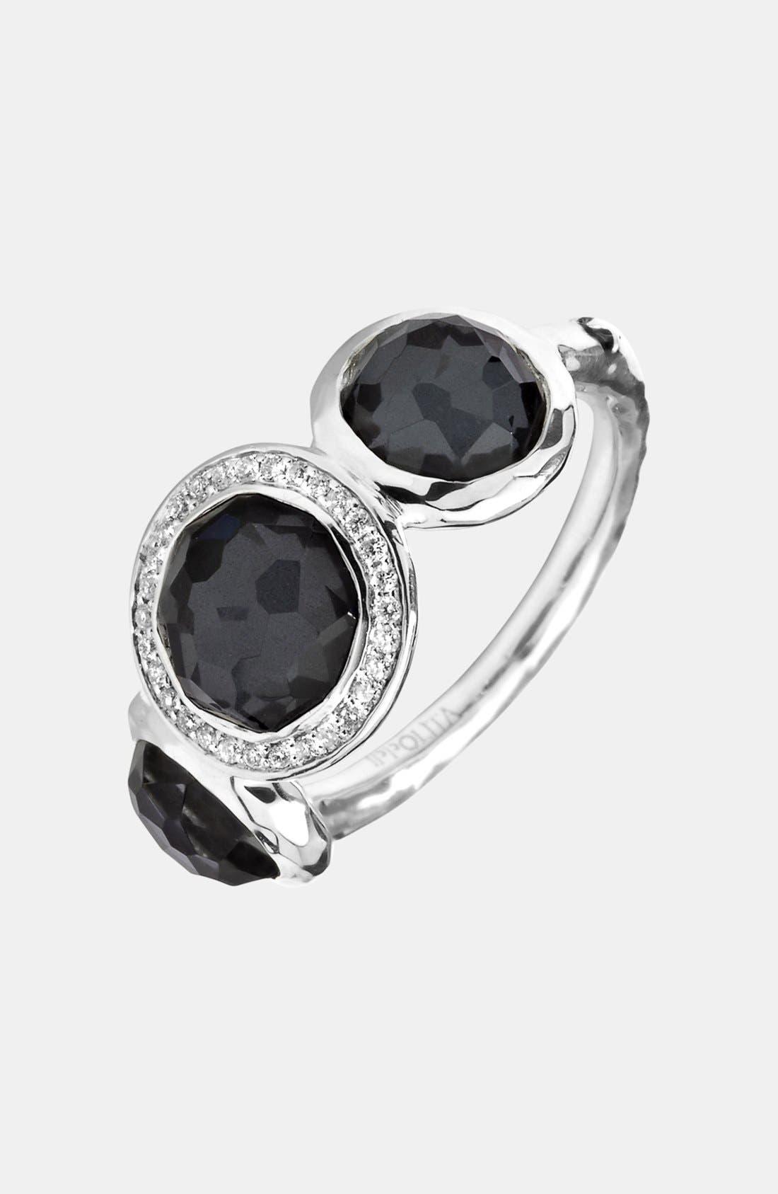 Alternate Image 1 Selected - Ippolita 'Stella - Lollipop' 3-Stone Ring with Diamonds