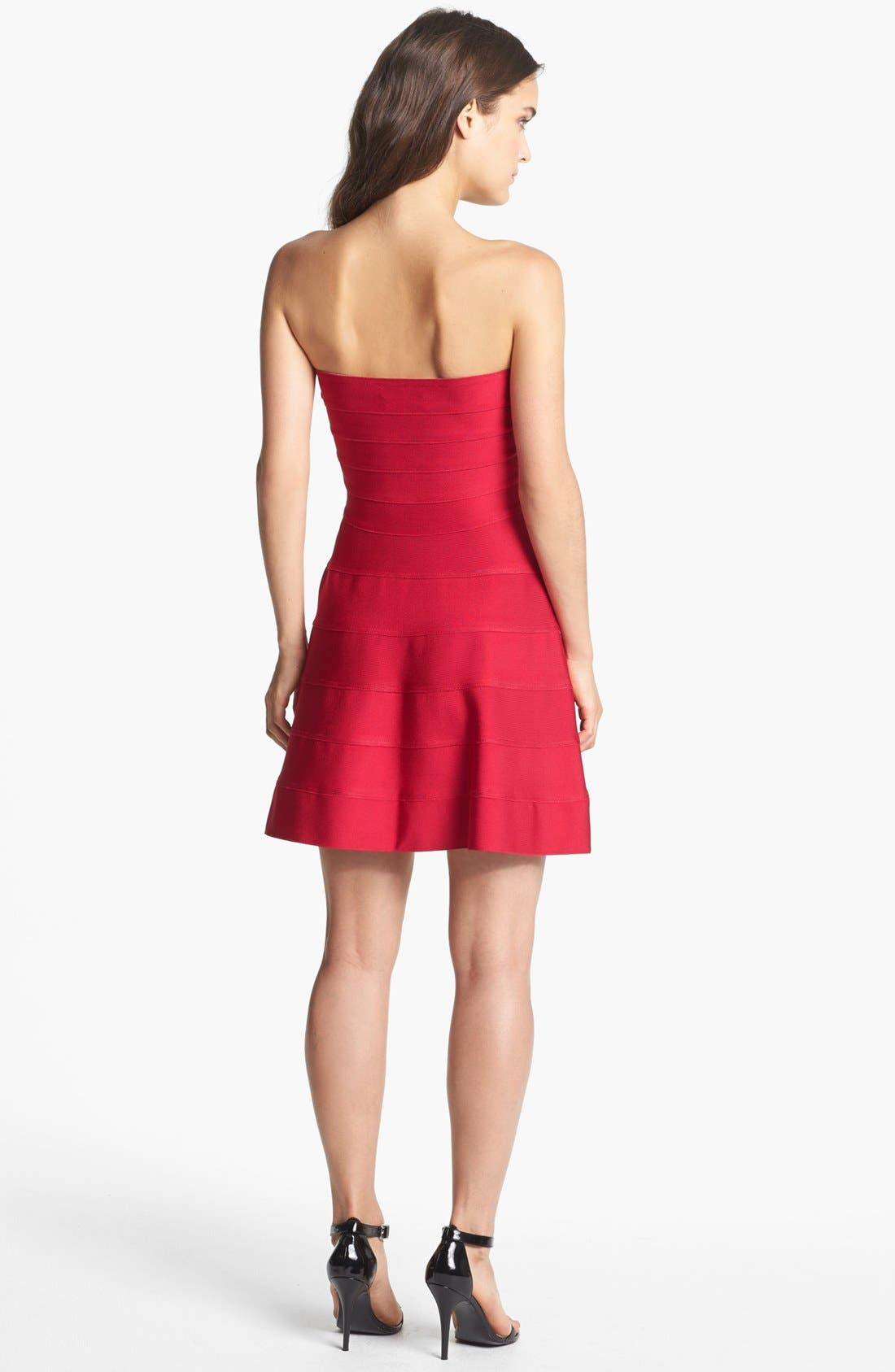 Alternate Image 2  - ERIN erin fetherston 'Jane' Bandage Fit & Flare Dress