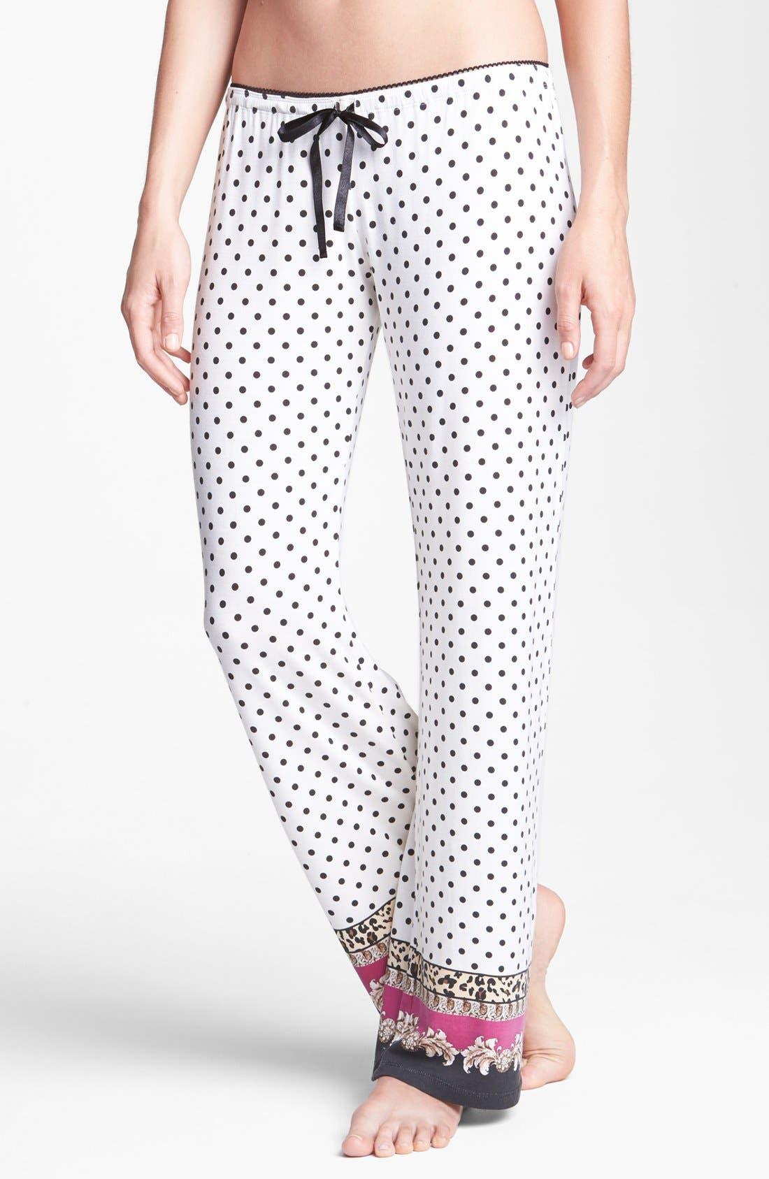 Alternate Image 1 Selected - PJ Salvage 'Pop of Pink' Knit Pants