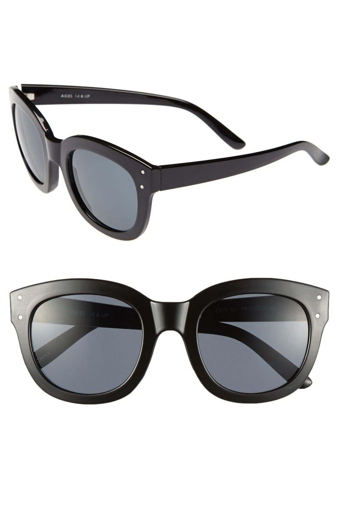 Alternate Image 1 Selected - FE NY 53mm Oversized Sunglasses