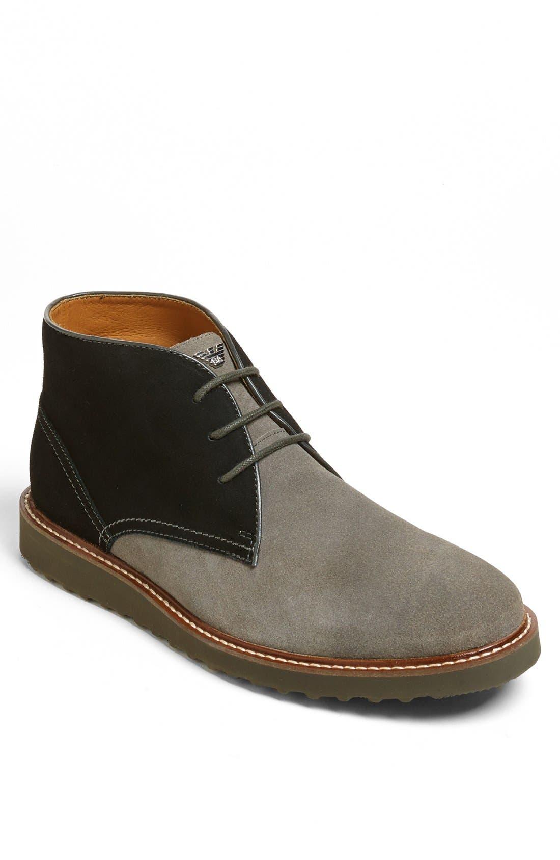 Main Image - Armani Jeans 'Desert' Chukka Boot (Men)