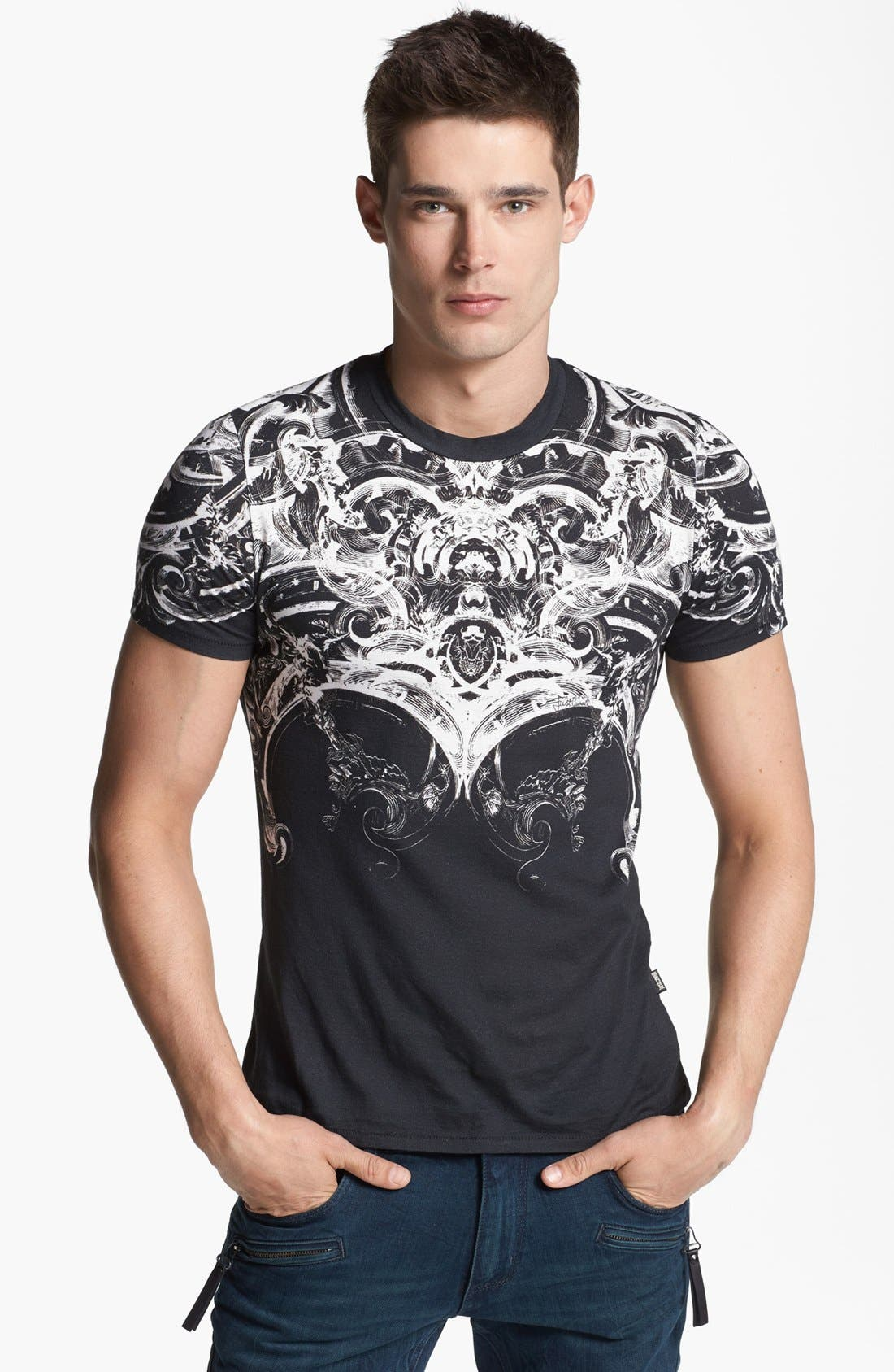 Alternate Image 1 Selected - Just Cavalli Print T-Shirt