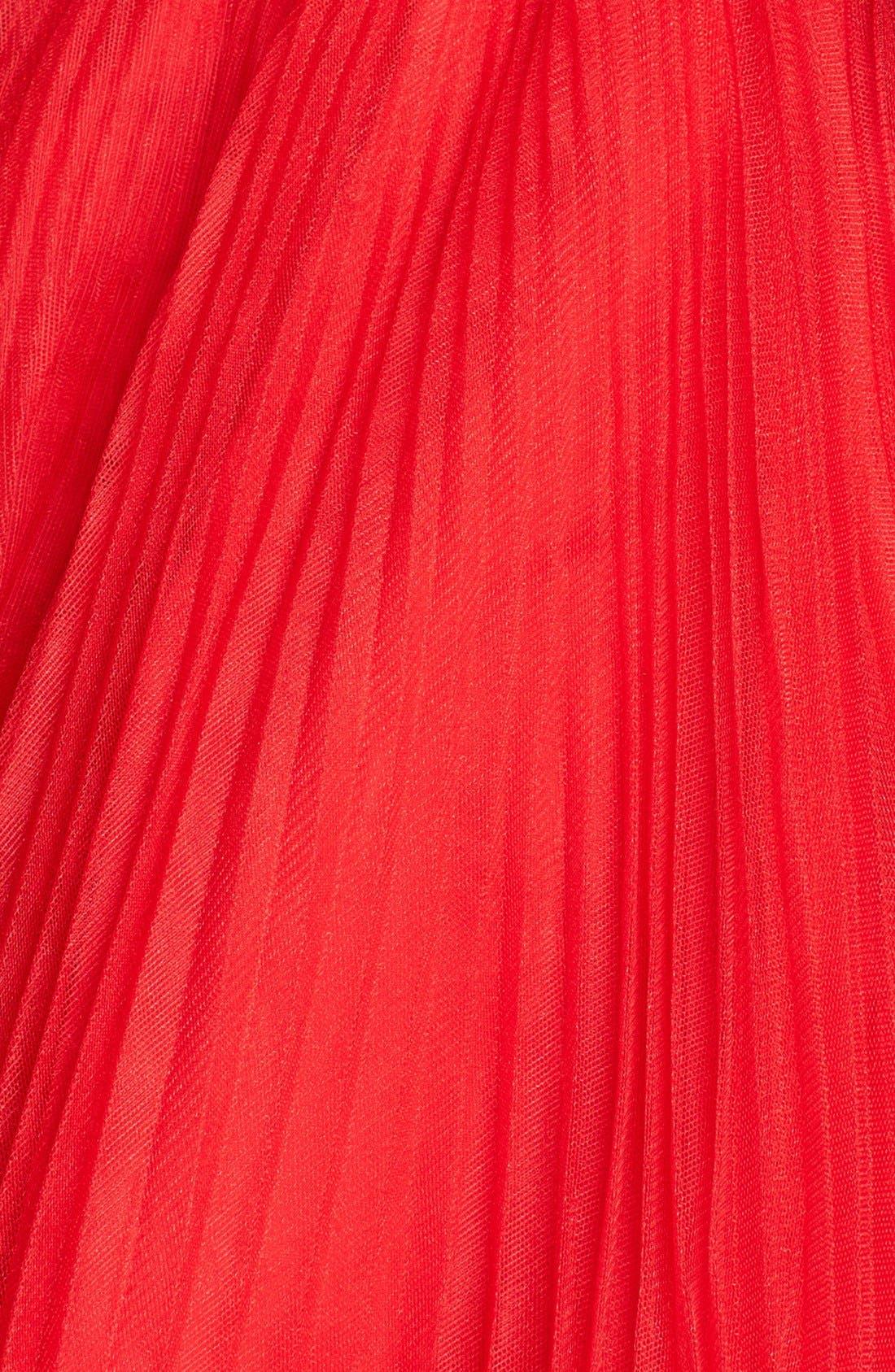Alternate Image 3  - Sherri Hill Embellished Tulle Fit & Flare Dress (Online Exclusive)