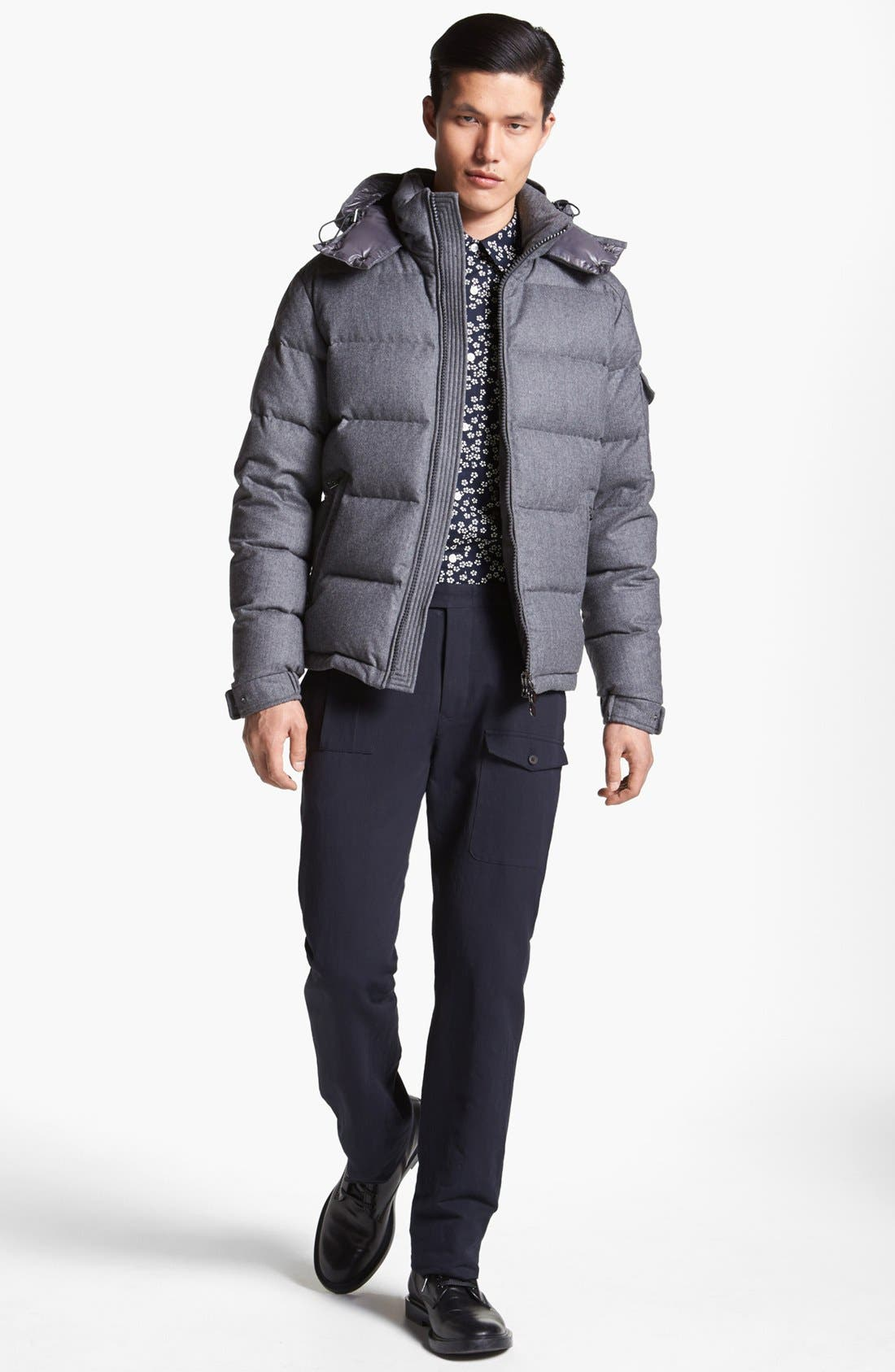 Alternate Image 4  - Moncler 'Mongenevre' Wool Down Jacket