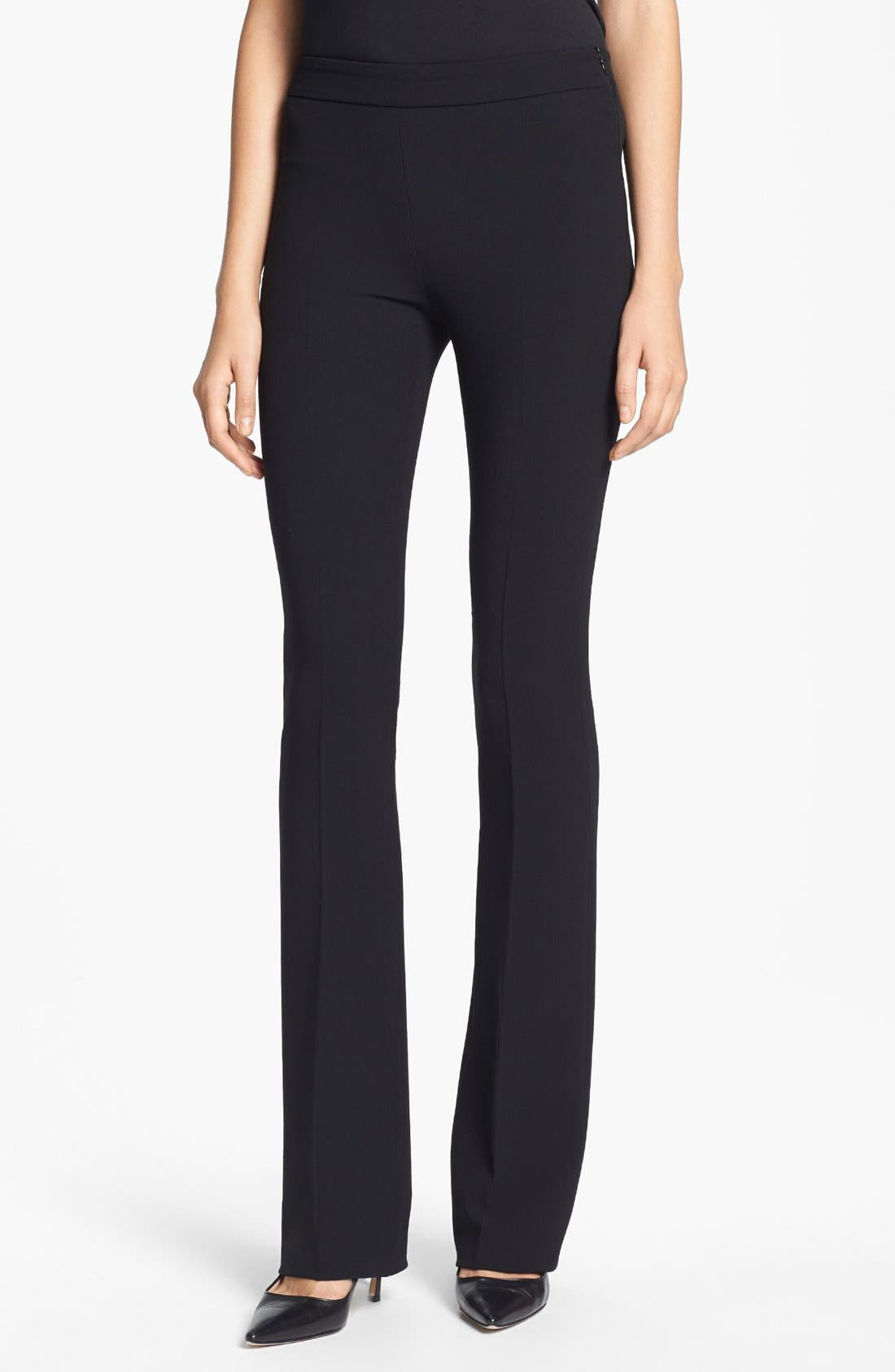 Alternate Image 1 Selected - Max Mara 'Trine' Narrow Stretch Wool Pants